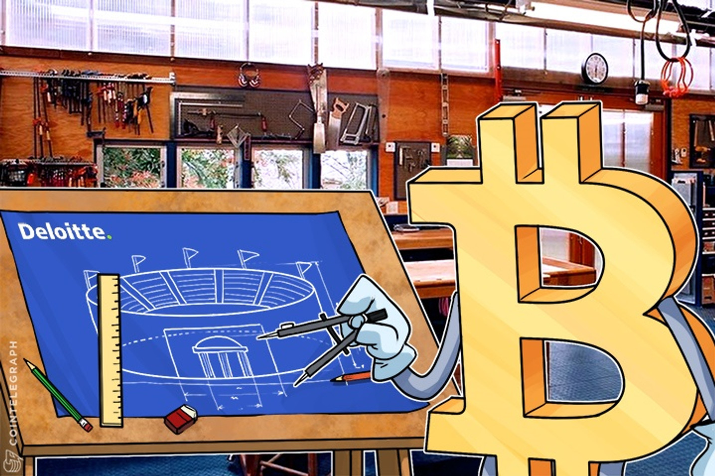 Deloitte: Bitcoin Could Revolutionize Stadium Experience