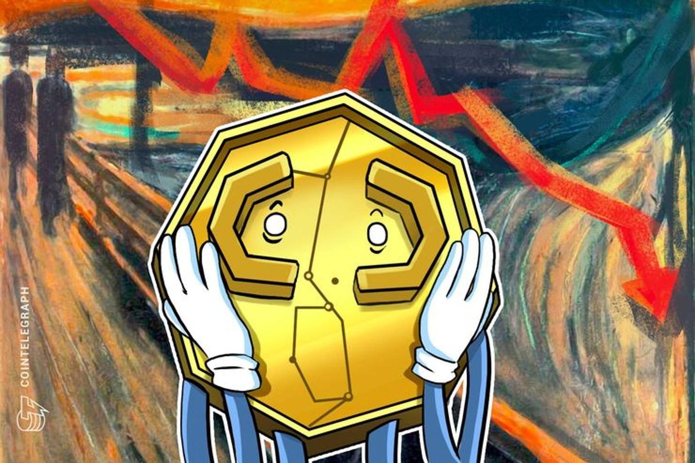 【速報】仮想通貨ビットコイン急落、一時8300ドル台に