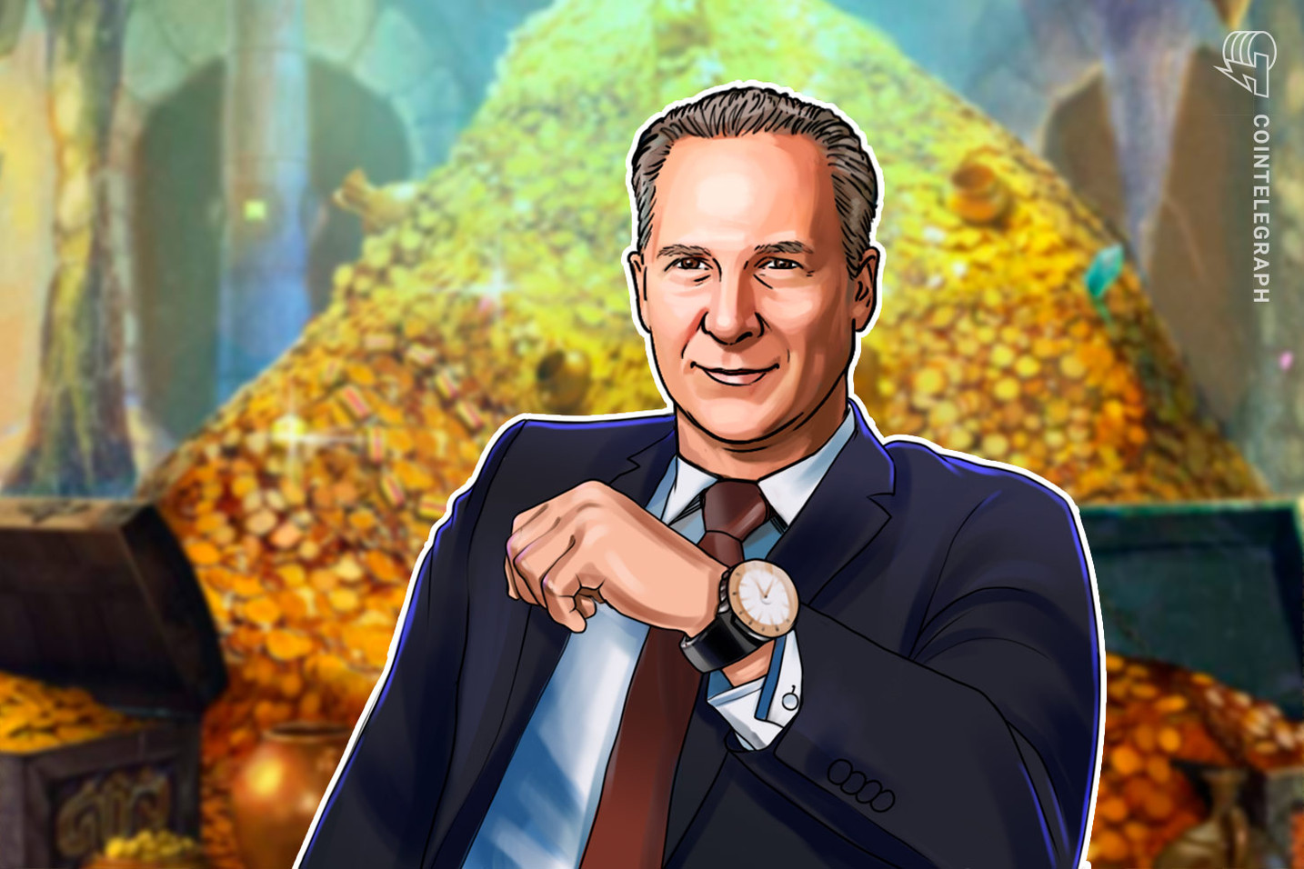 Peter Schiff Oblivious as Bitcoin Retakes Gold as 'Safe Haven' Ytd