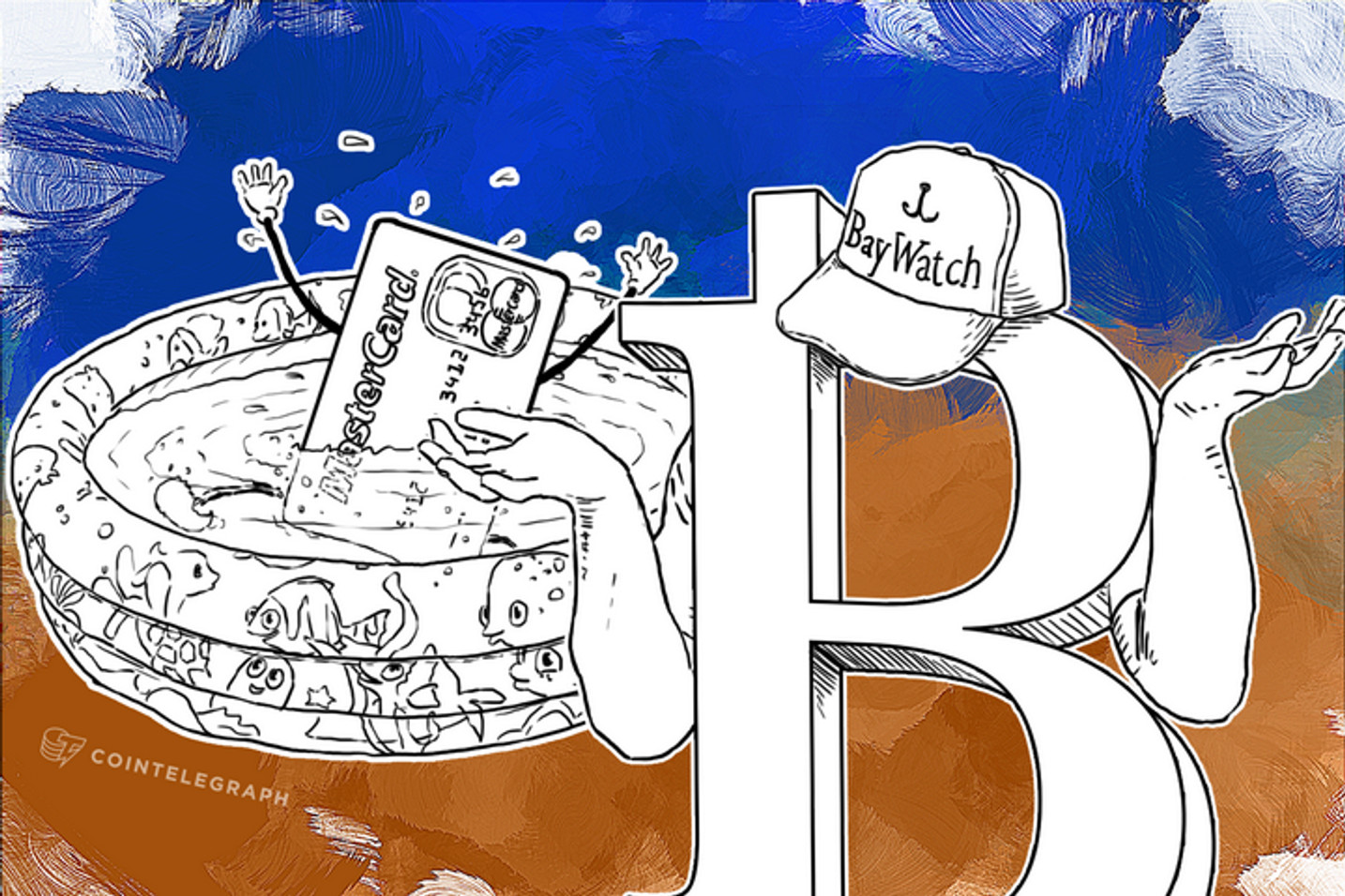 MasterCard in Panic over Bitcoin: Drowns in the Shallow End of Pool (Op-ed)