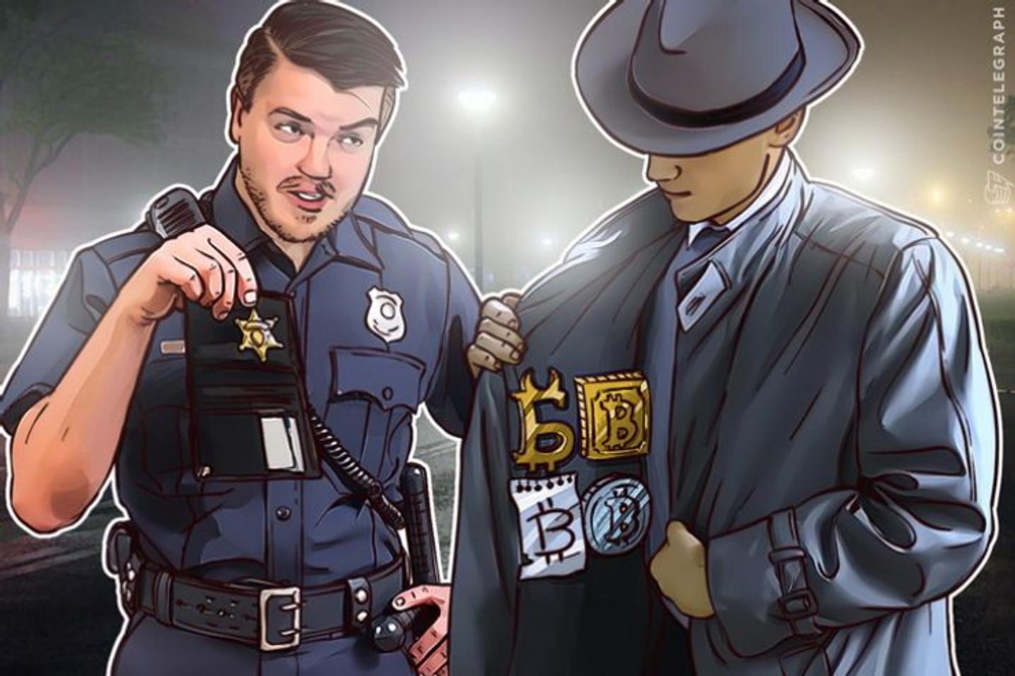 Policia Civil prende homem que aplicava golpes com Bitcoin e estava foragido