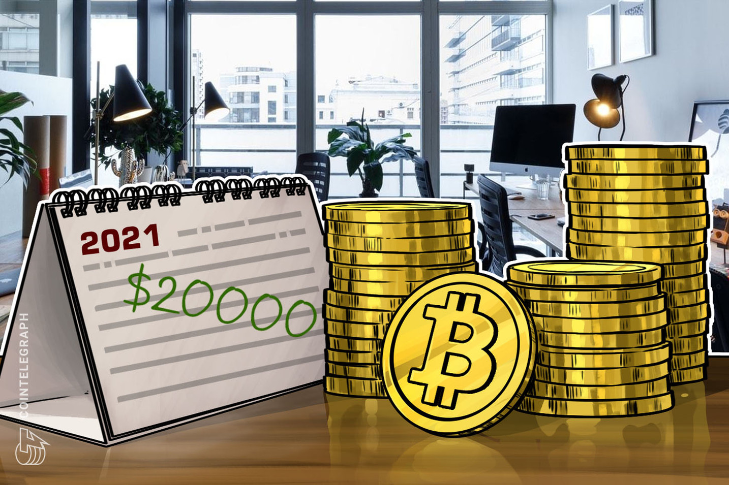 Financial Advisory Firm Says Past Market Trends Point to Bitcoin at $20,000 by 2021