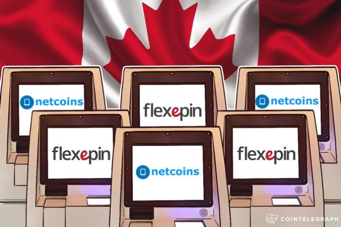 Novih 7000 bitkoin automata u Kanadi i Australiji