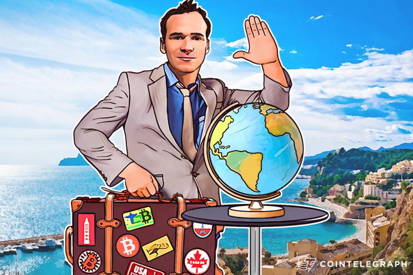Around the World in 18 Months Using Only Bitcoins: Felix Weis's Big Adventure
