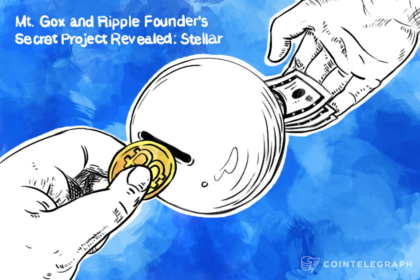 Mt. Gox And Ripple Founder's Secret Project Revealed: Stellar