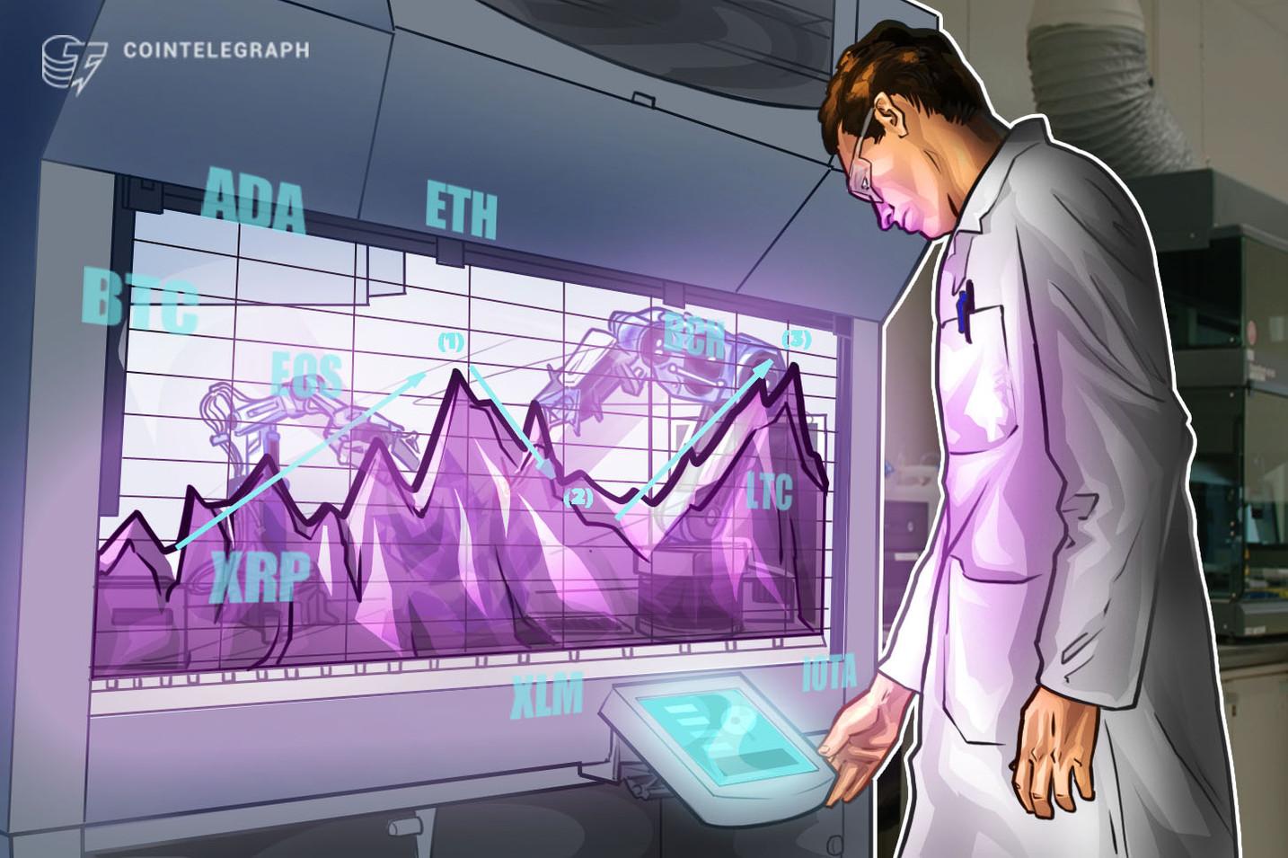 Bitcoin, Ethereum, Ripple, Dinheiro Bitcoin, EOS, Litecoin, Cardano, Stellar, IOTA: Análise de Preço, 20 de junho
