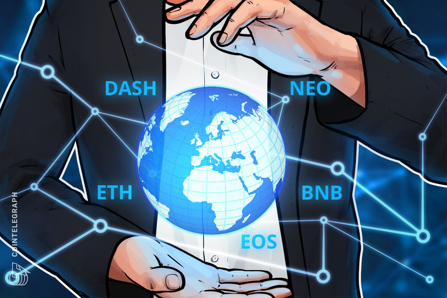 Top 5 Crypto Performers Overview: Dash, Neo, Binance Coin, EOS, Ethereum