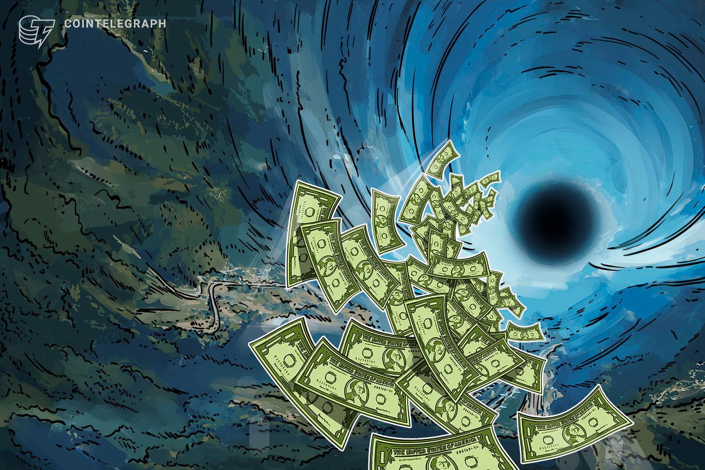 Prestamistas de margen en Poloniex perdieron USD 13.5 millones debido a la caída repentina