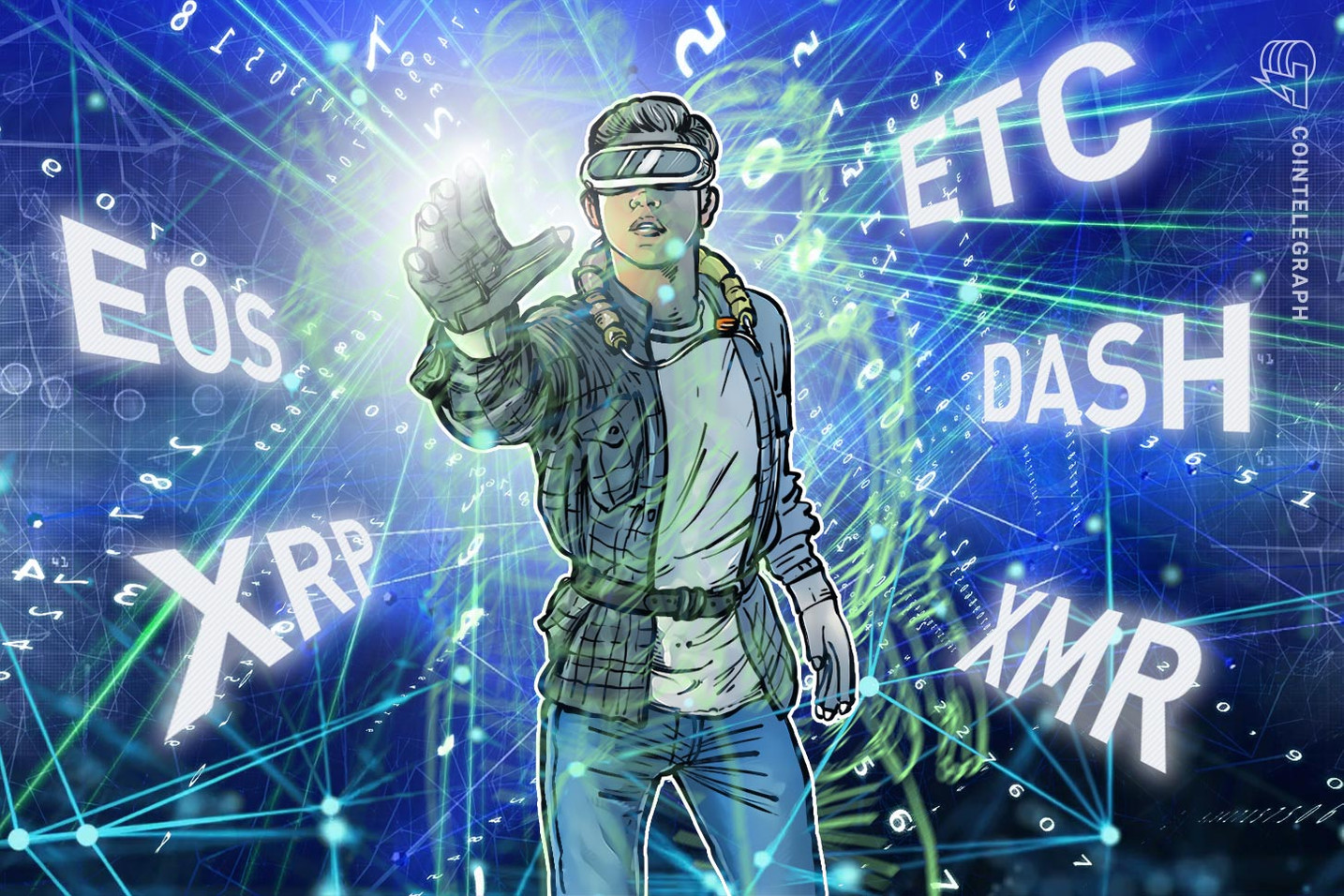 Top 5 Crypto Performers Overview: EOS, Ripple, Ethereum Classic, Dash, Monero