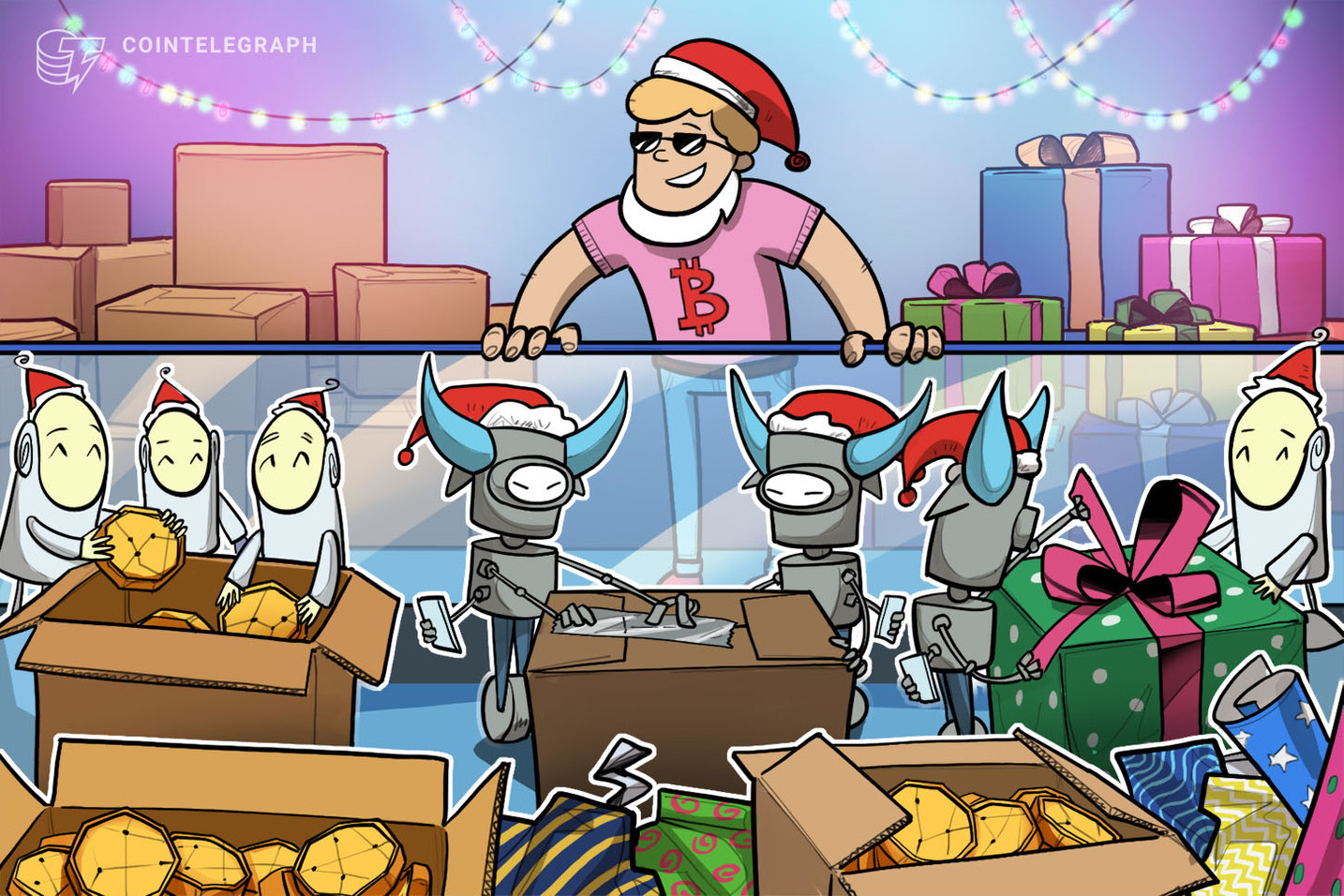 Festive-Themed Platform Says It Delivers Crypto Bots to the Masses