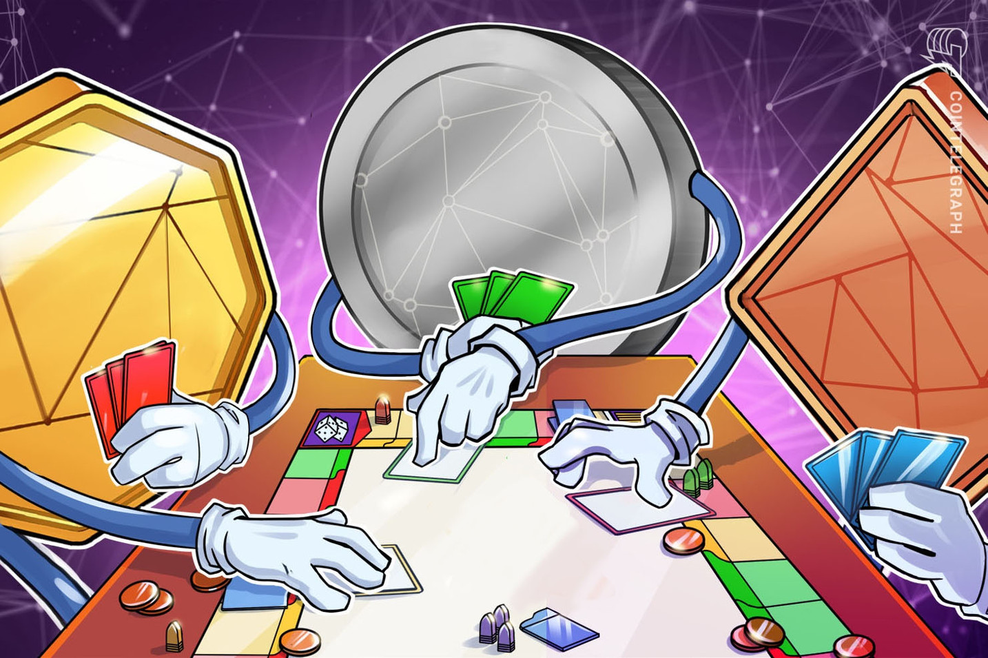 Se prepara el lanzamiento en versión alfa del primer juego construido en la blockchain de Tezos