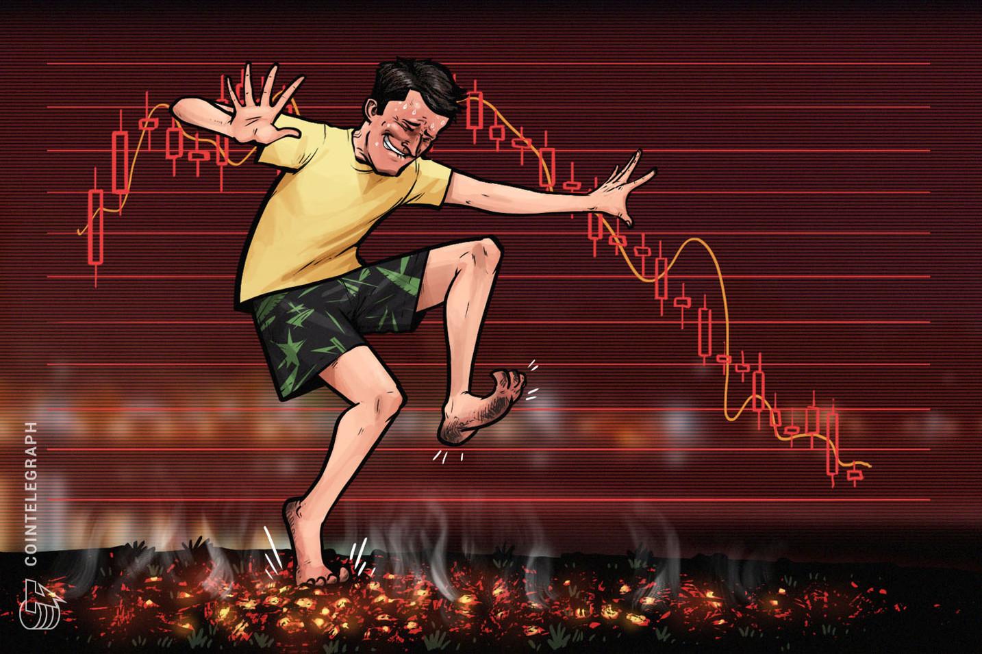 أسعار العملات الرقمية تنخفض بشكلٍ حاد، مع خسائر كبيرة على جميع الأصعدة