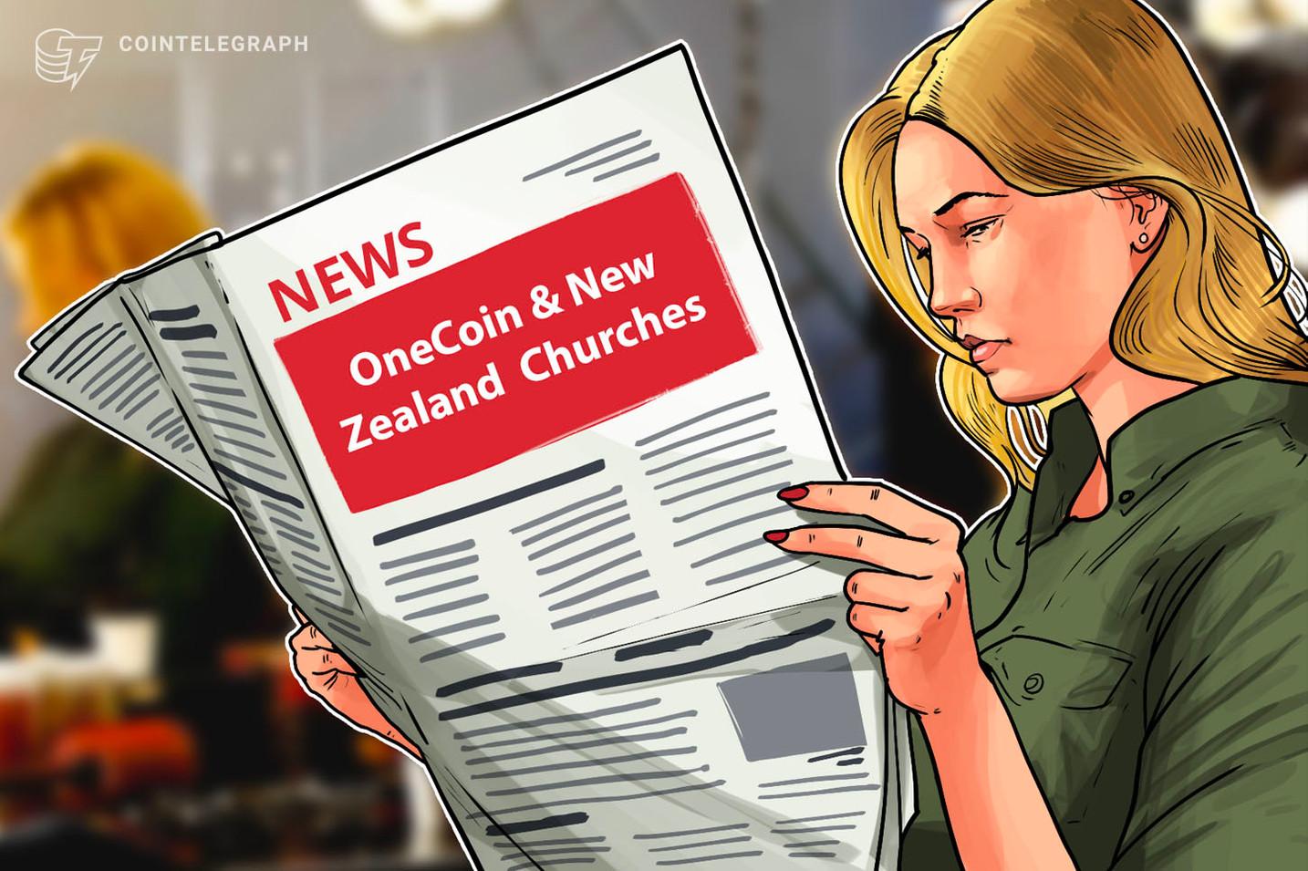 Iglesias de Nueva Zelanda niegan afiliación con el criptoesquema Ponzi OneCoin