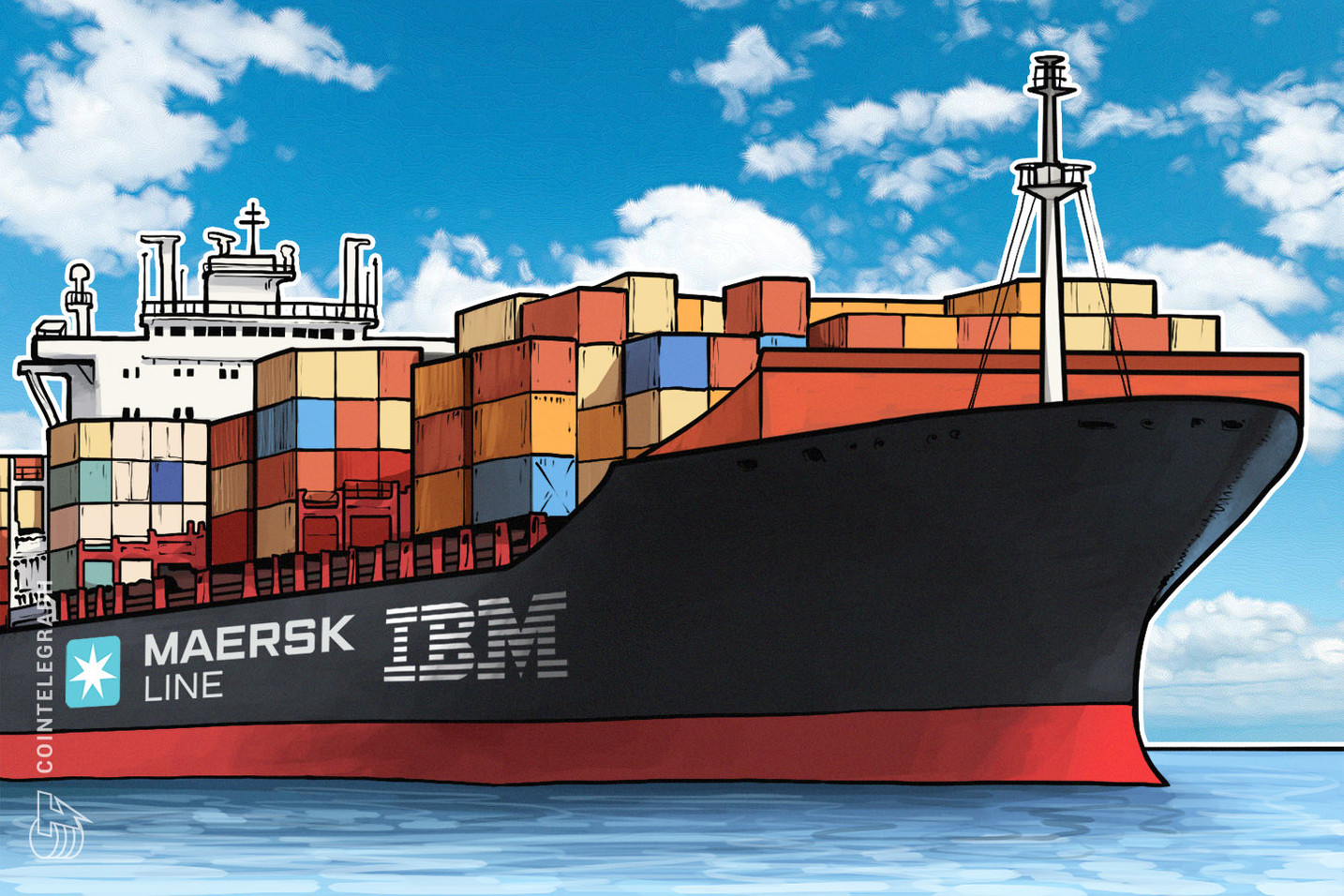 Maersk, IBM Launch Blockchain Shipping Supply Chain Platform