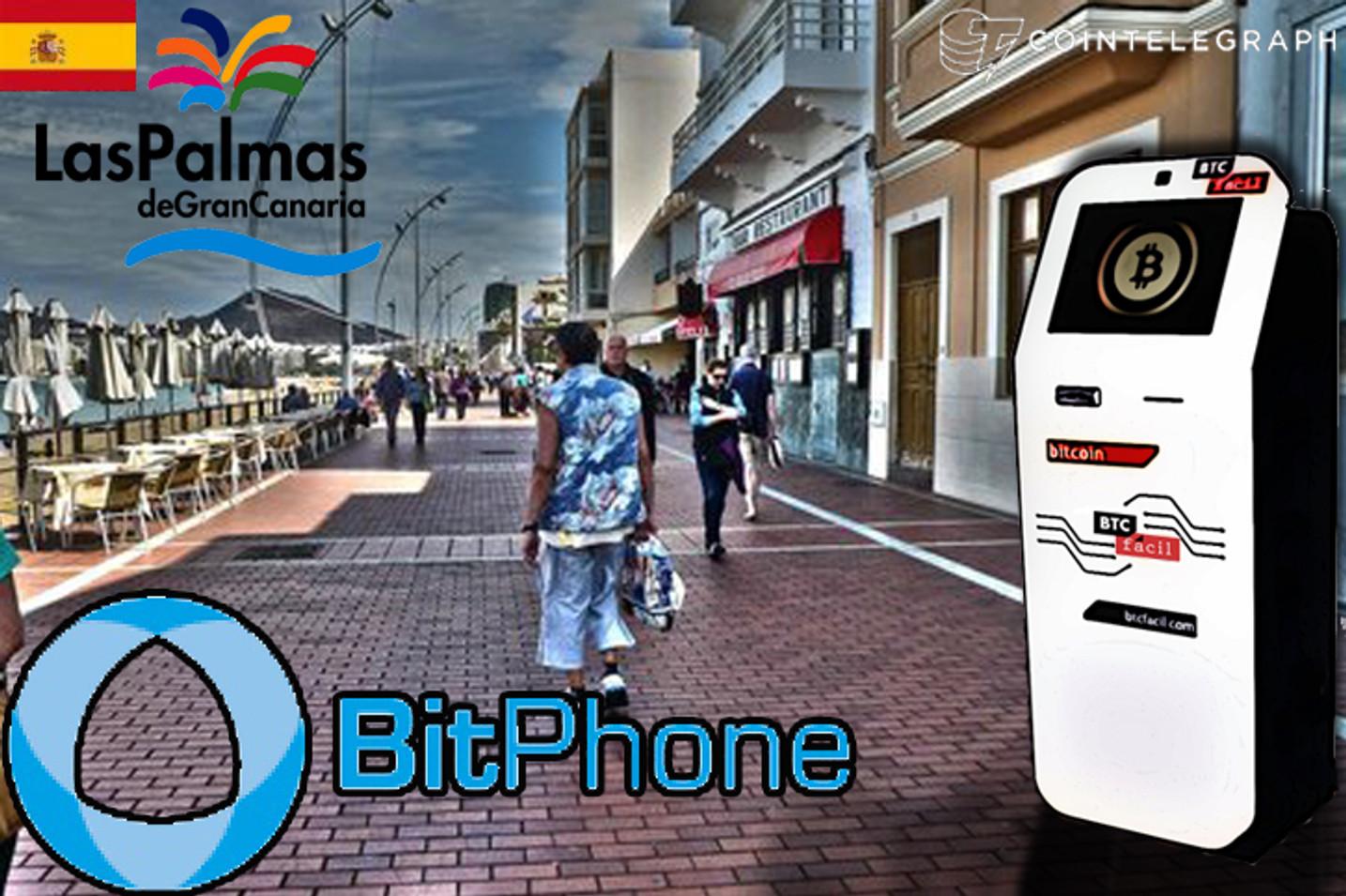 Las Palmas tendrá el primer cajero automático de bitcoins de las Islas Canarias