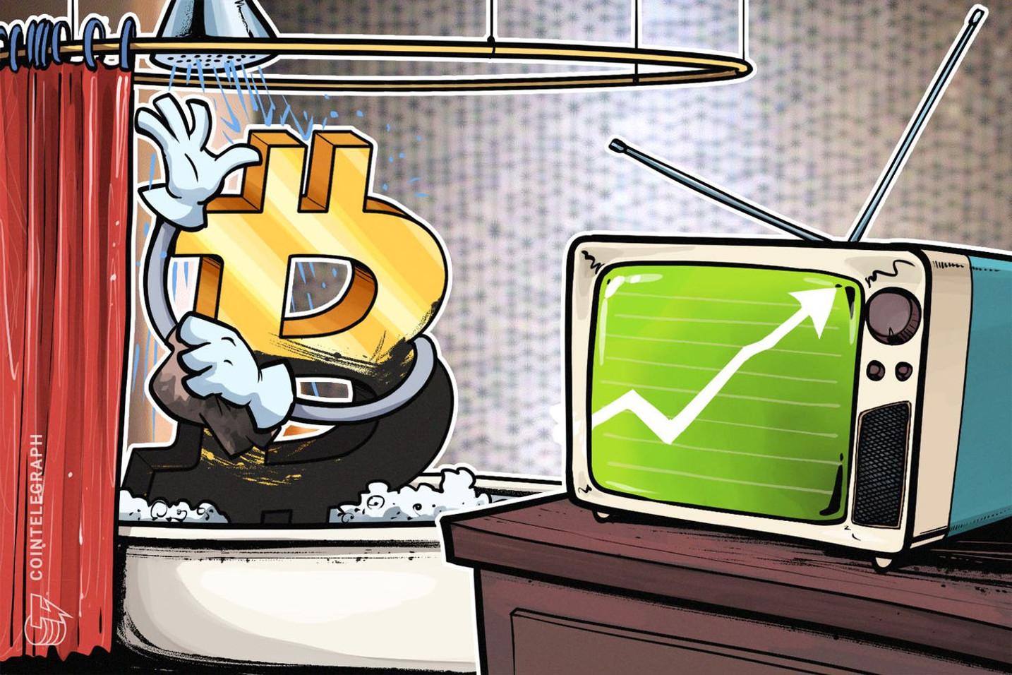 仮想通貨ビットコイン、1万700ドル付近が次のカギか