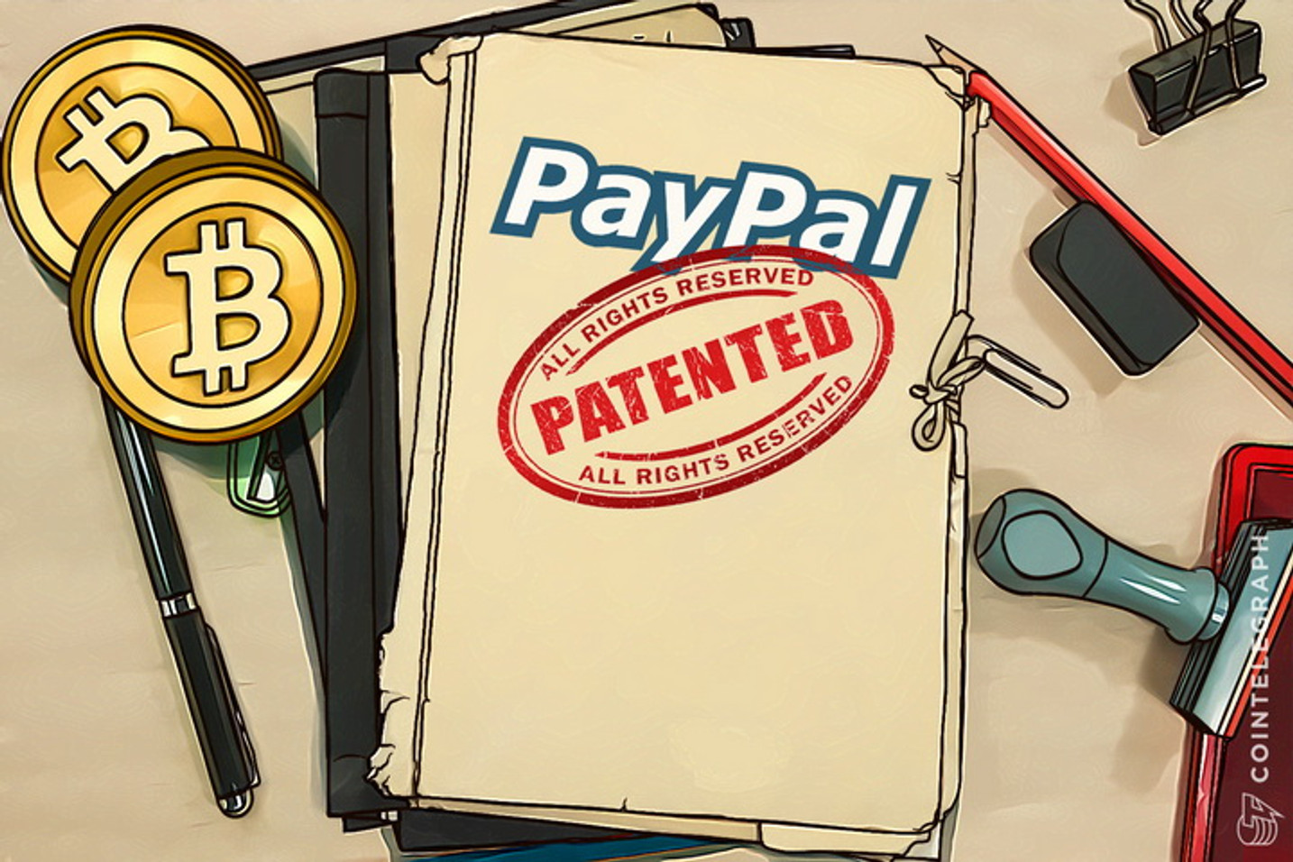 PayPal Files Patent for Bitcoin Payment Device