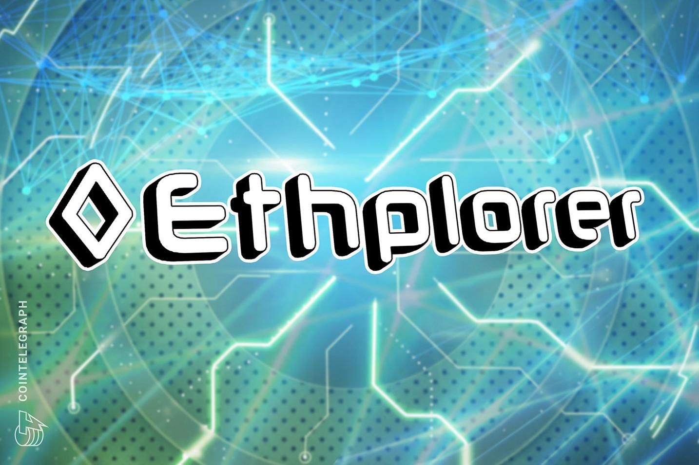 Ethplorer debuts Bulk API Monitor, able to track millions of addresses
