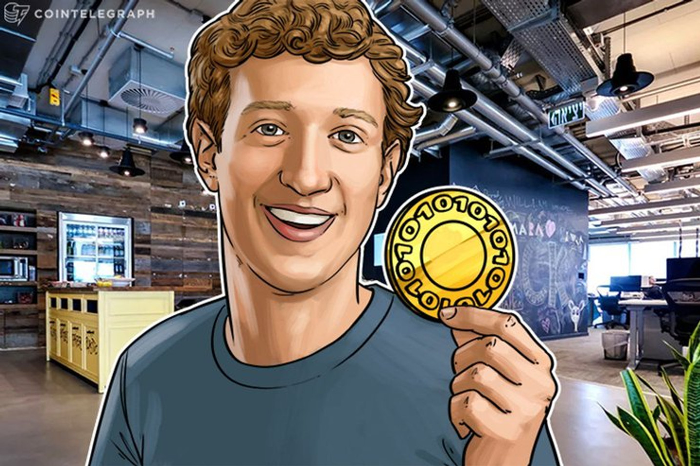 フェイスブックCEO「自社サービスで仮想通貨リブラをサポート」 リブラ協会の独立性も強調