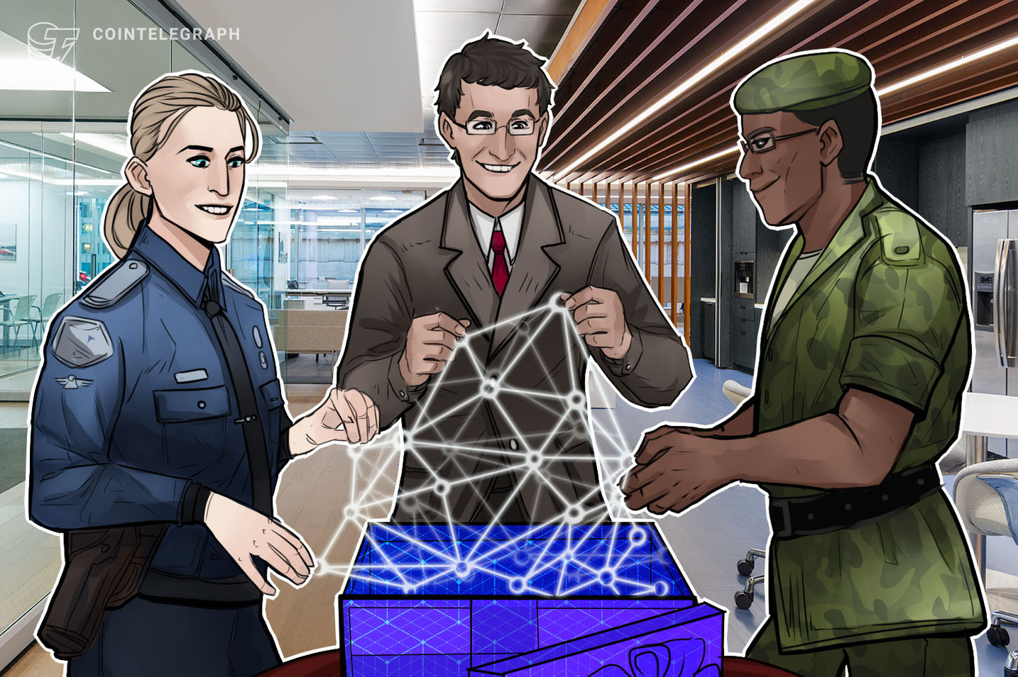 De mensagens criptografadas a sistemas críticos de incêndio: Blockchain para o setor de segurança