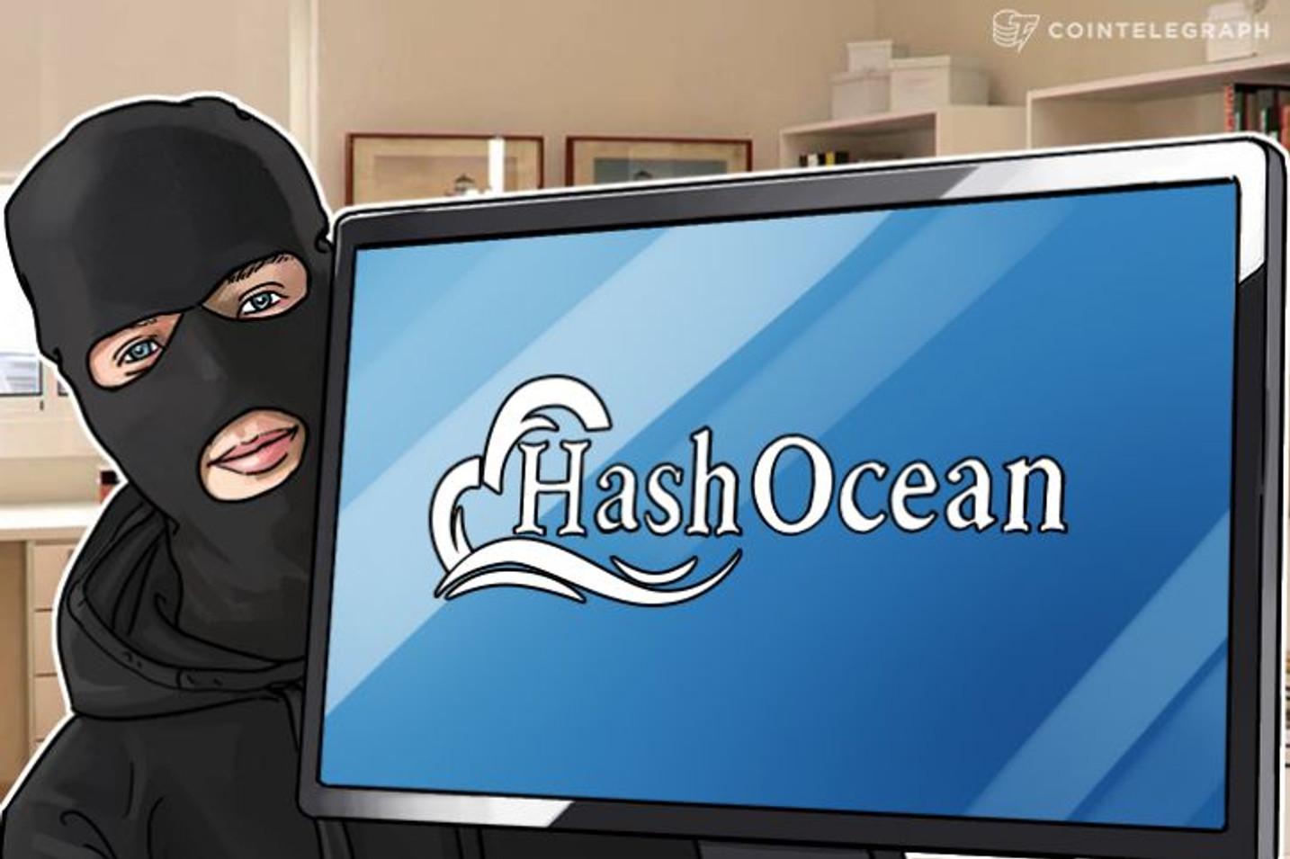 HashOcean Responde, cita um Hack, e diz pronta a retomar pagamentos
