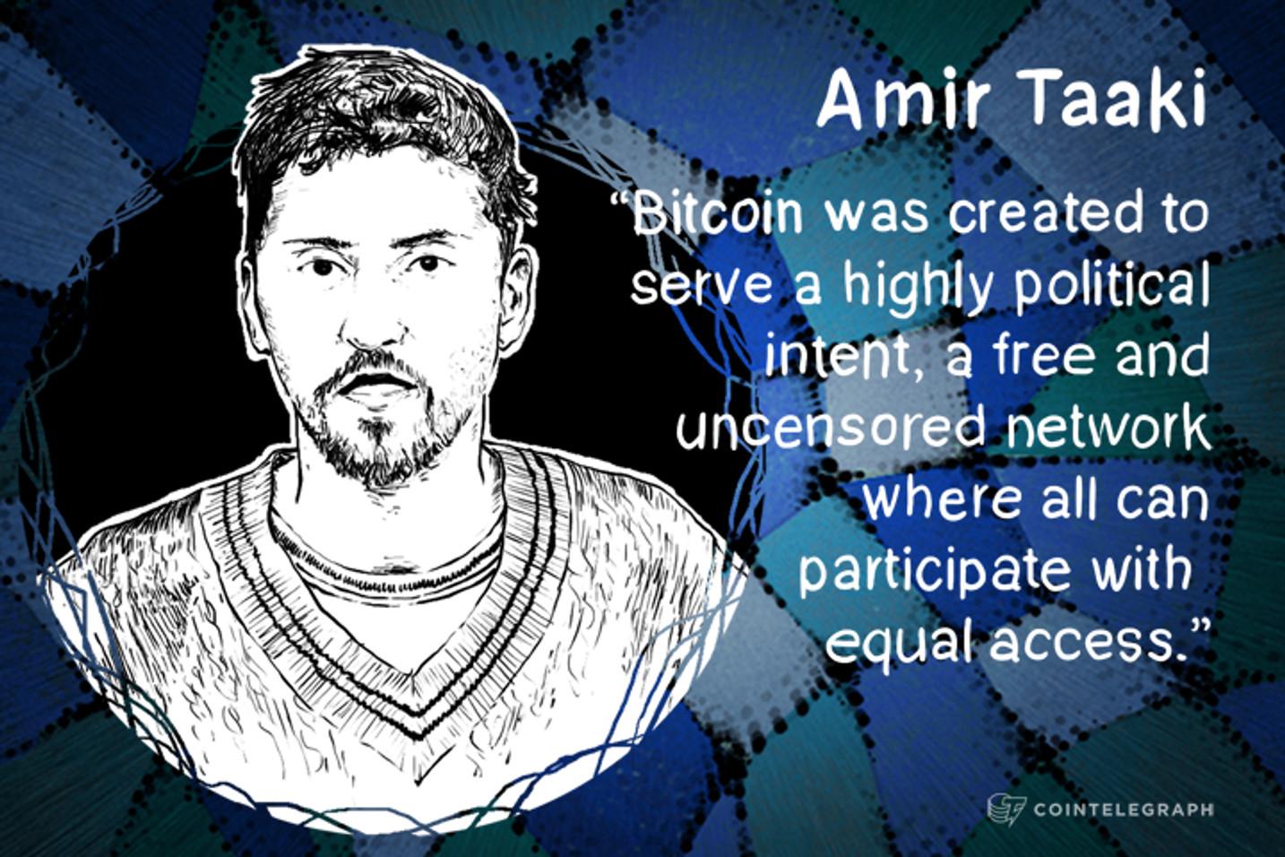 """Bitcoin's """"Political Neutrality is a Myth"""" - Amir Taaki Interview"""