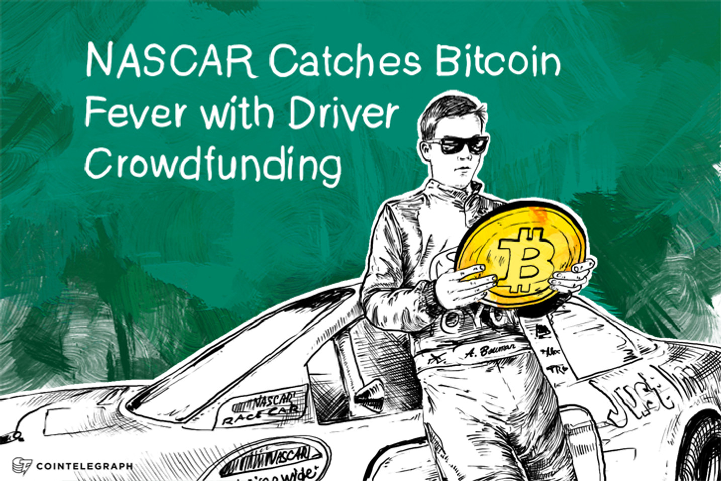 NASCAR Catches Bitcoin Fever with Driver Crowdfunding