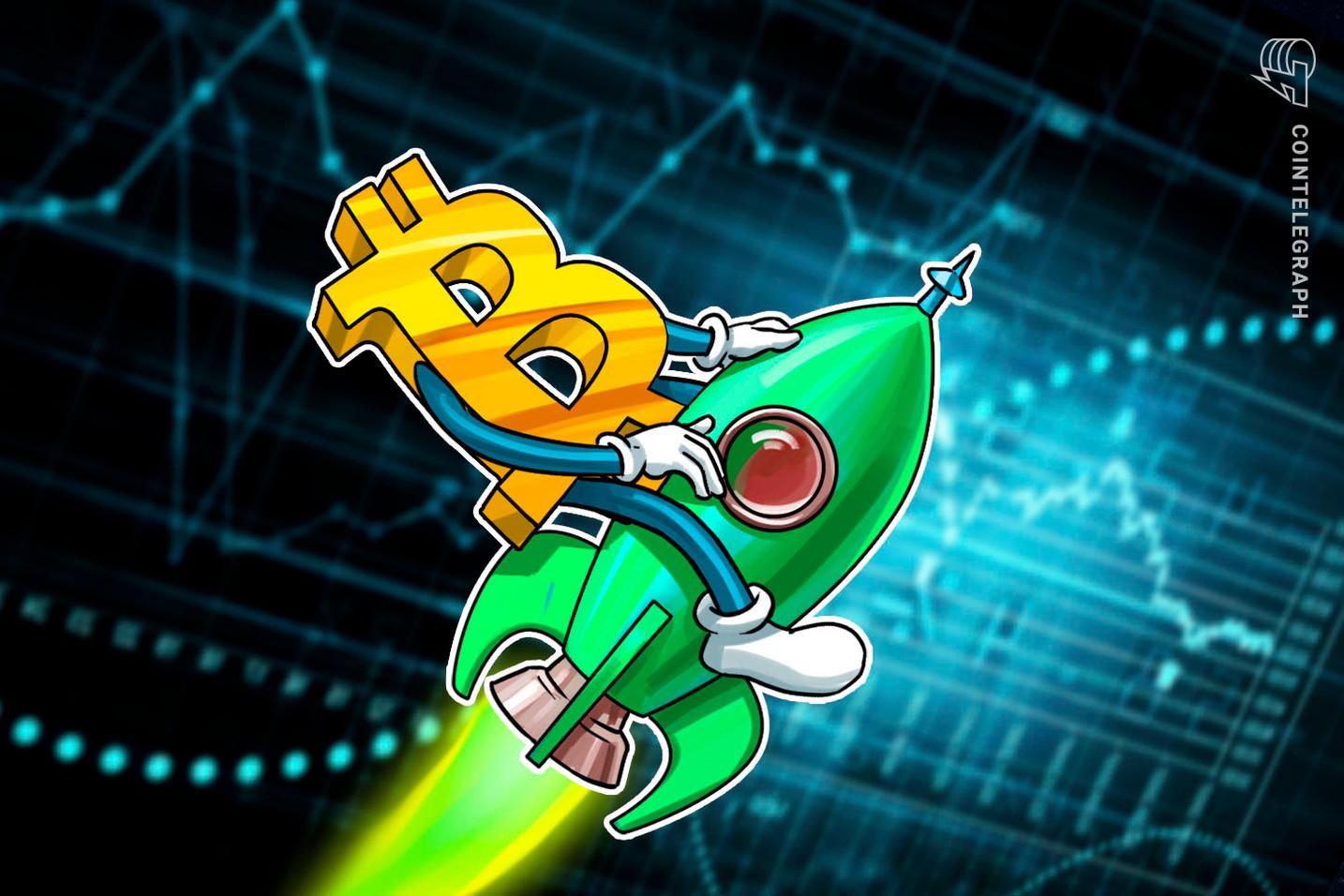 Qual a probabilidade do volume de negociação de Bitcoin atingir US$ 1 trilhão por dia até 2025?