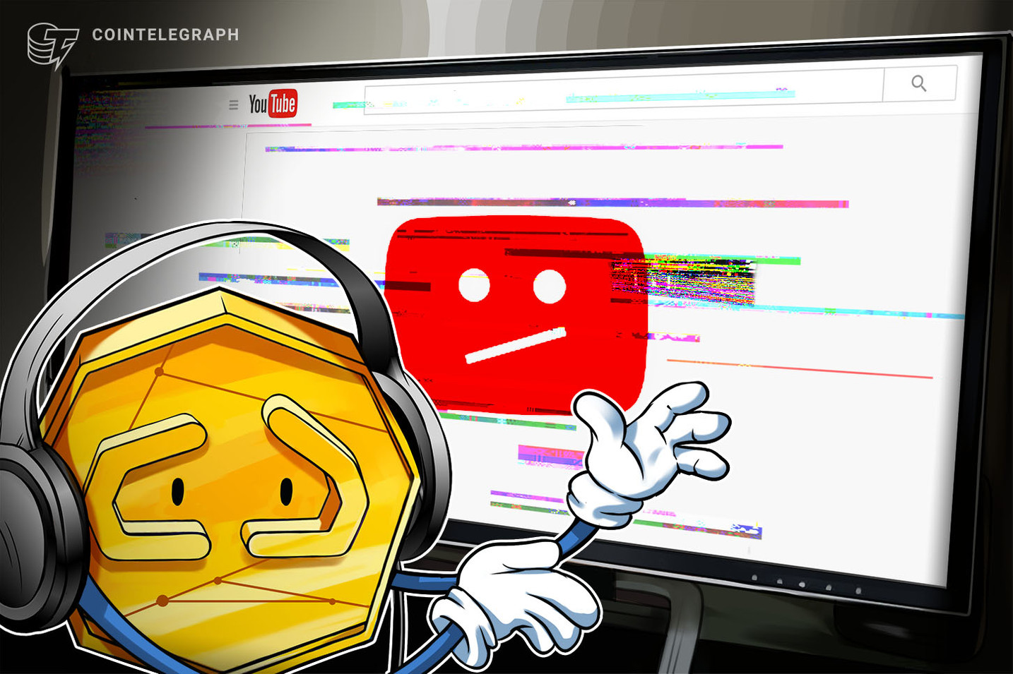 """YouTube prohibe canal de criptomonedas por """"fomentar actividades ilegales"""""""