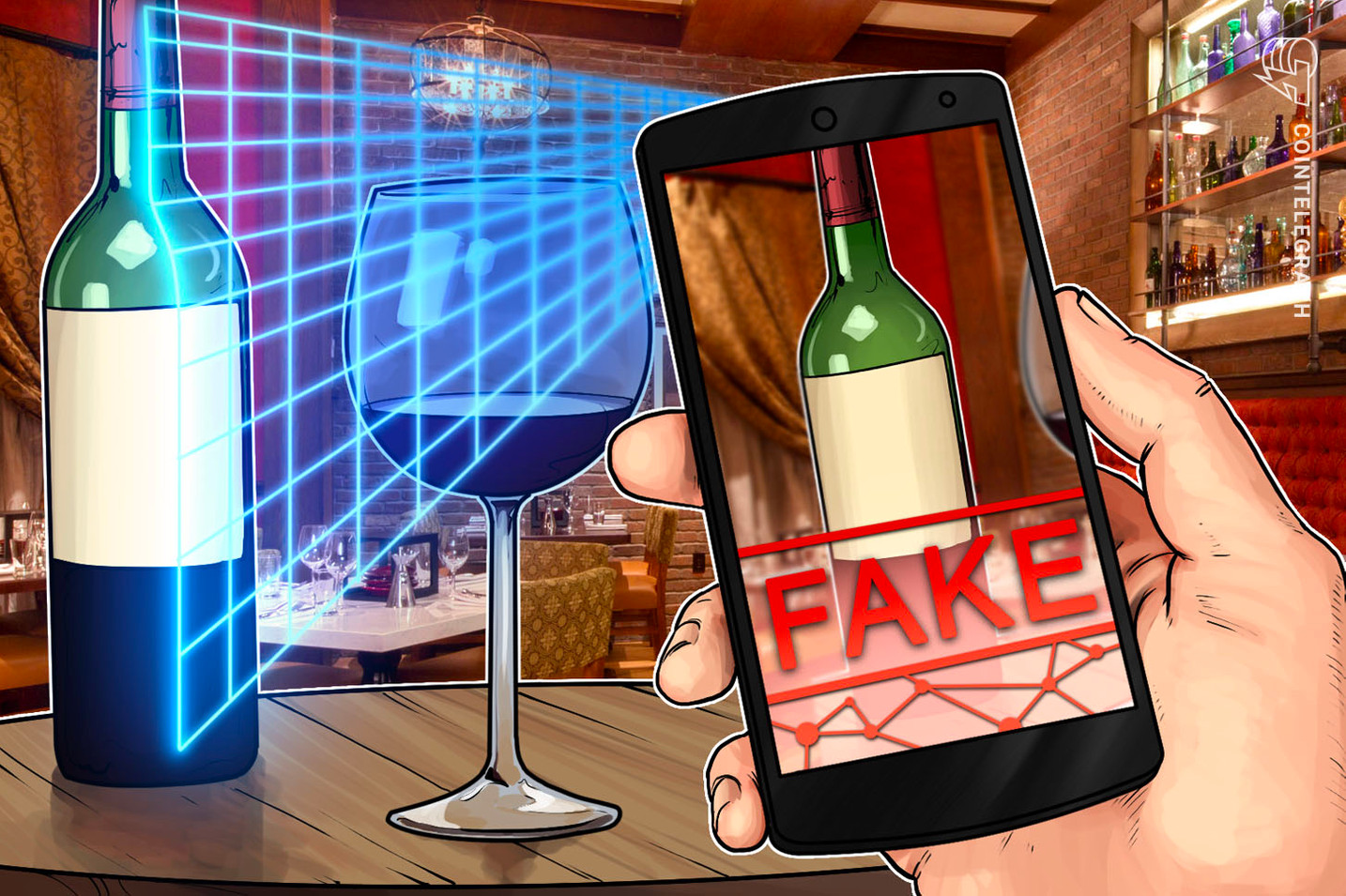 Chinese Alcohol Wholesaler Testing Anti-Counterfeiting Blockchain Solution