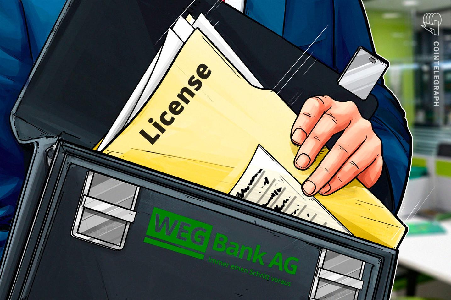 Estland: Kryptohandels- und Depotlizenz für WEG Bank