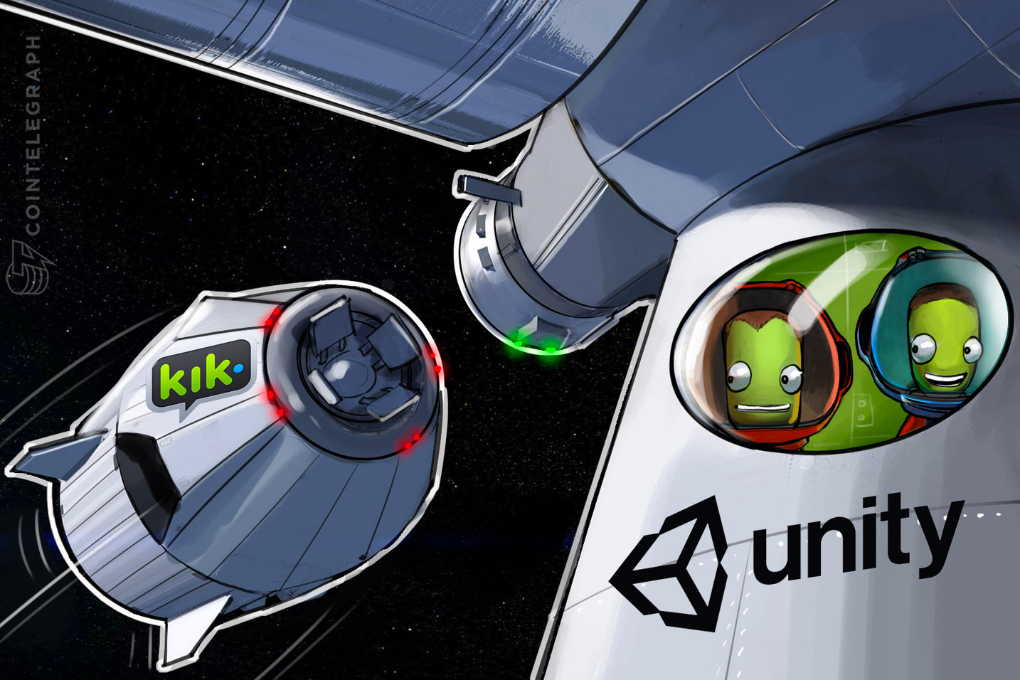 Kik App To Partner With Unity Technologies To Spread Token To Mainstream Gaming