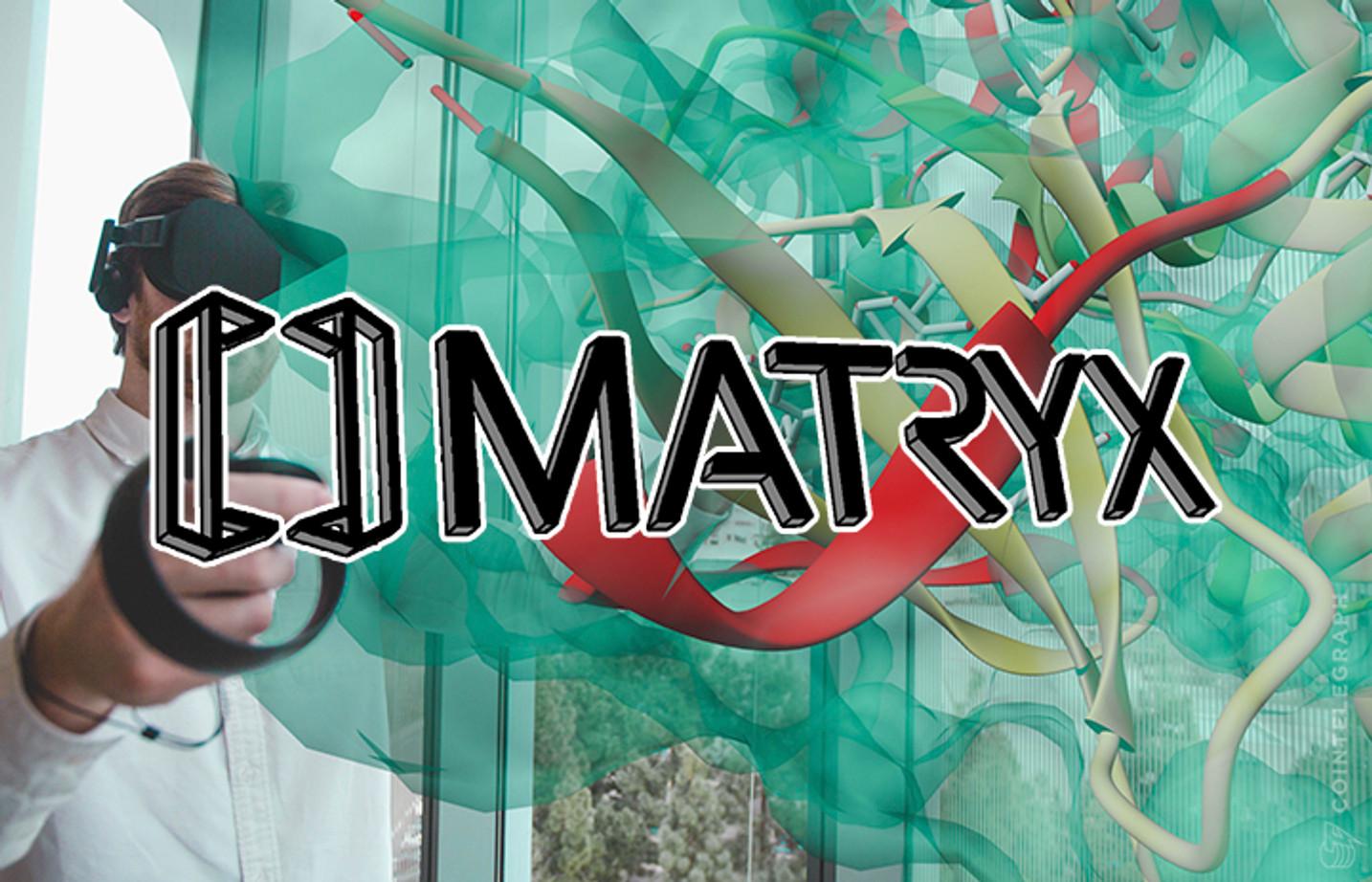 Desarrolldar de software de realidad virtual presenta a Matryx en venta de tokens