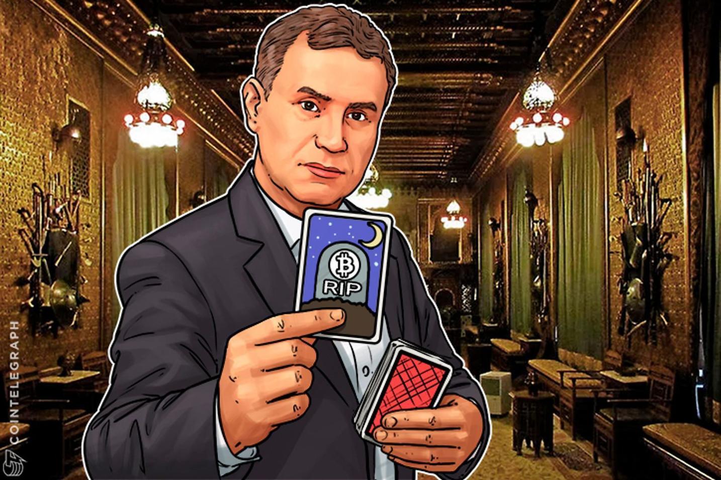 """仮想通貨業界で相次ぐ記録更新  アンチの""""破滅博士""""はどう説明する? 来週、ビットコインのカリスマと一騎打ち"""