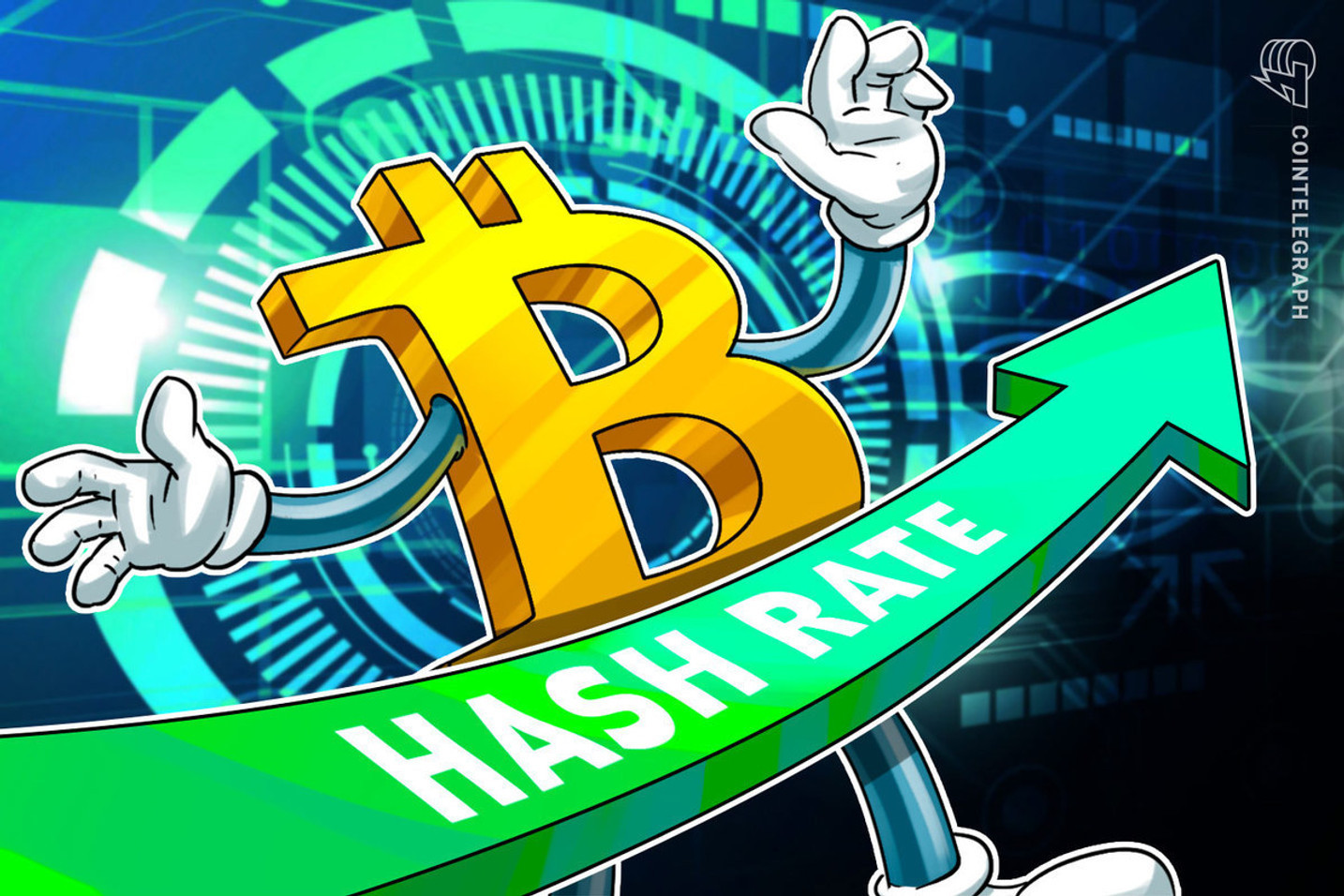 ¿Qué tan grande es la potencia de hashing de la red de Bitcoin?