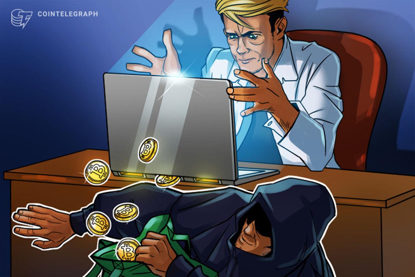 Golpes de extorsão sexual pedindo Bitcoin crescem no Brasil e chegam a 16 mil ataques em um mês