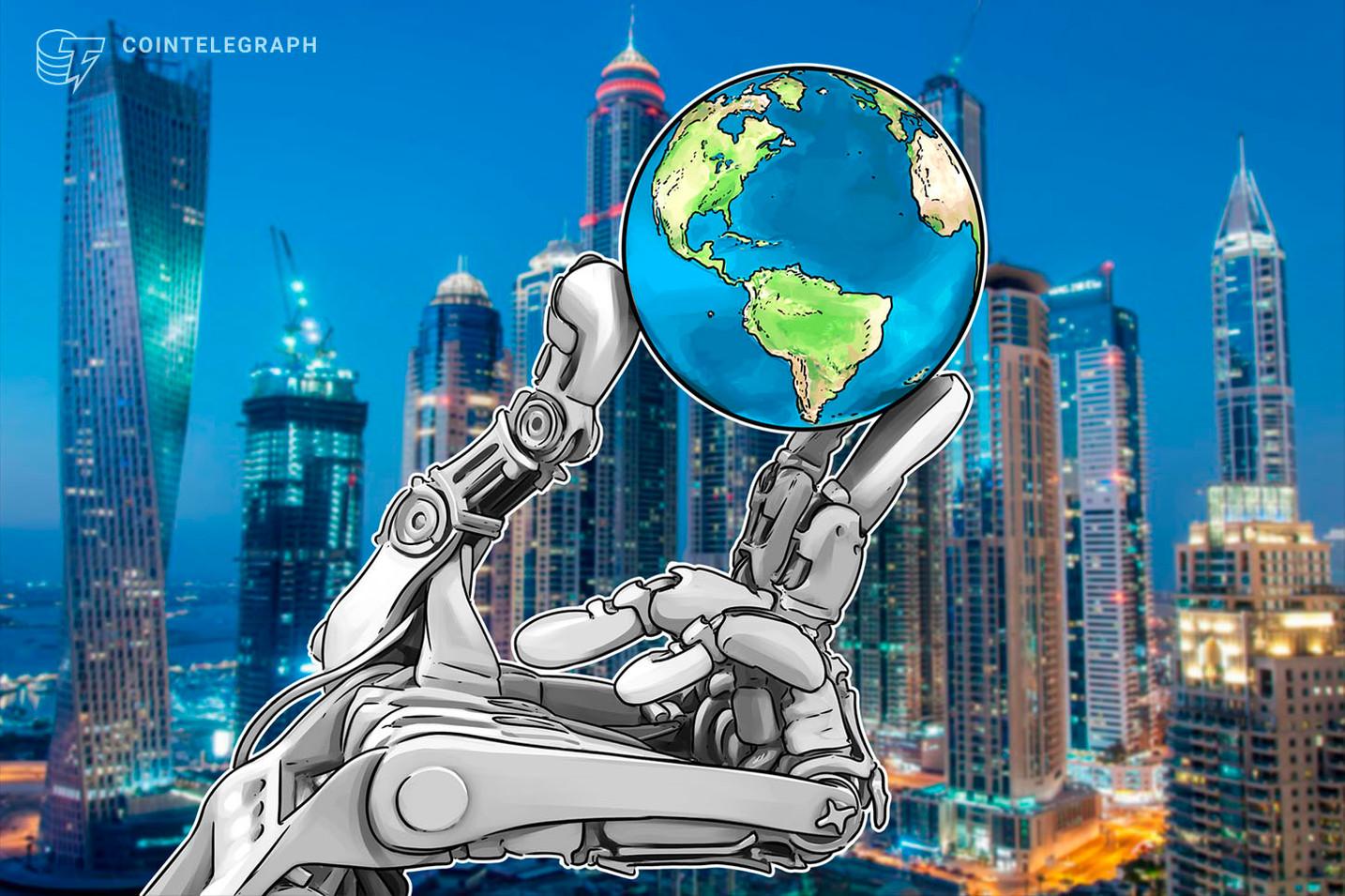 UAEがブロックチェーン・AI構想を提示、ブロックチェーンの教育プラグラムも始動