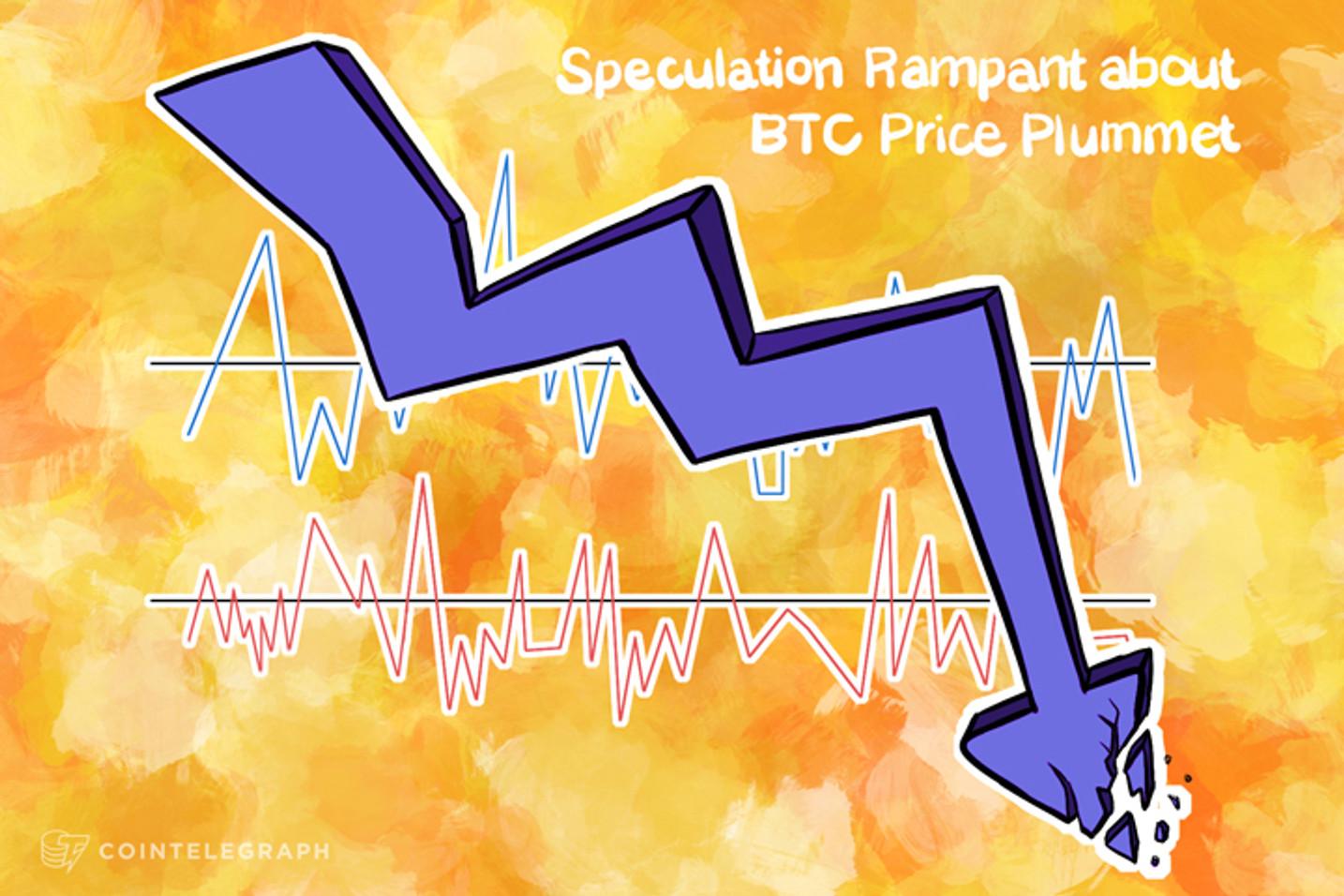 Speculation Rampant About BTC Price Plummet