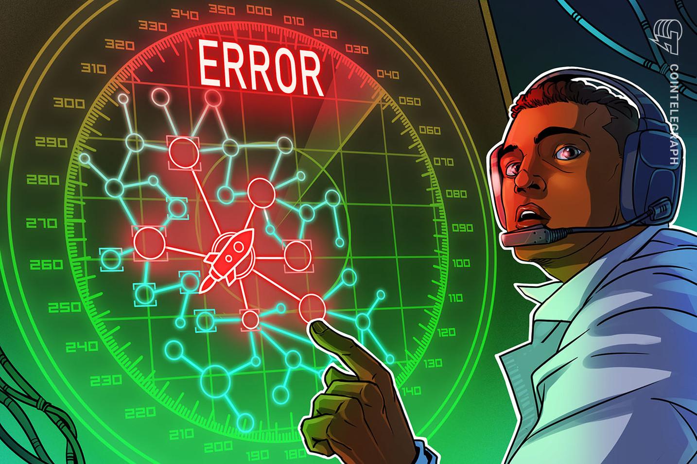 """Un exchange descentralizado de criptomonedas desactiva el trading debido a una """"Vulnerabilidad crítica de seguridad"""""""