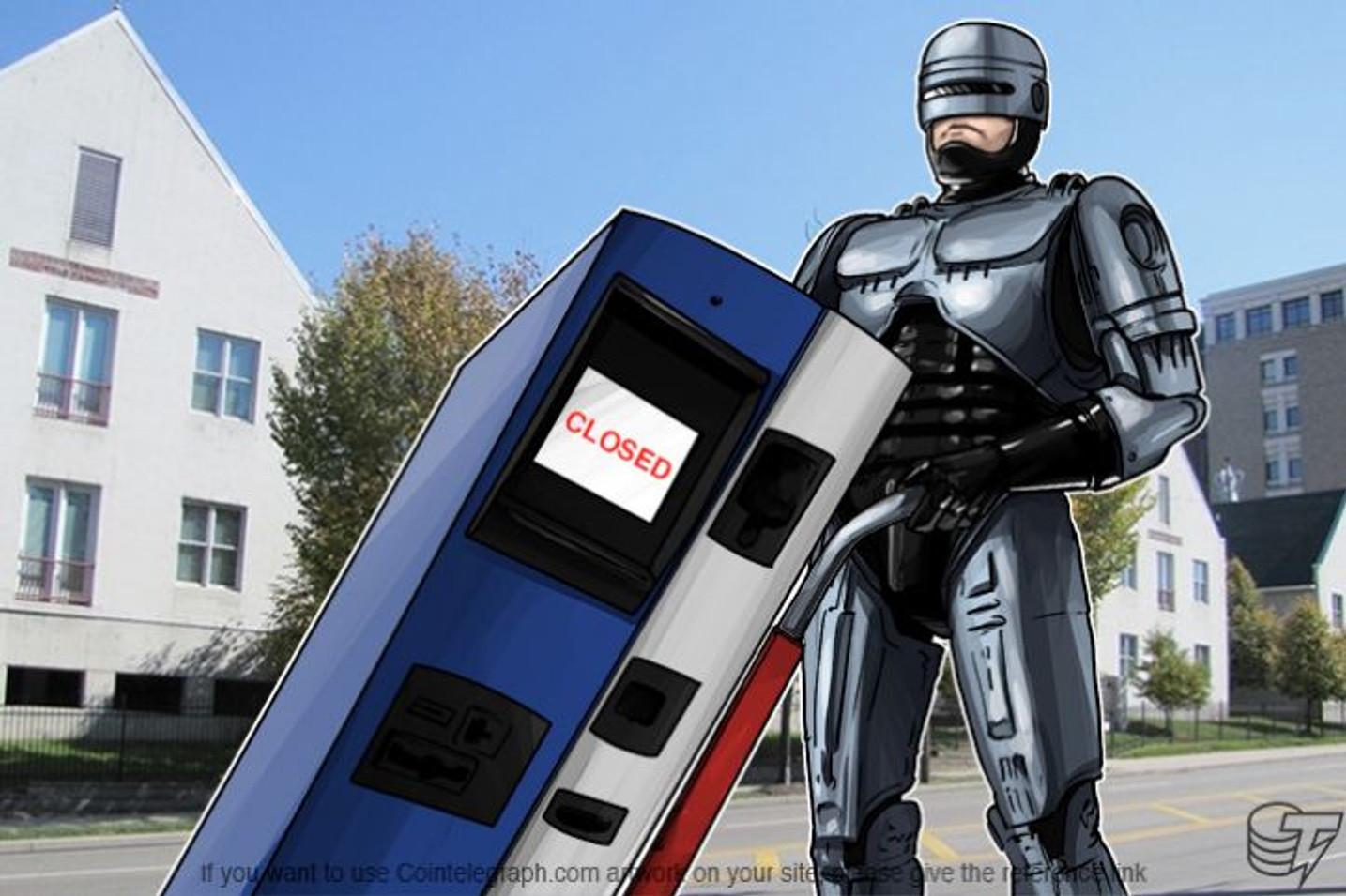 Proizvođač BTM-ova – Robocoin obustavlja proizvodnju