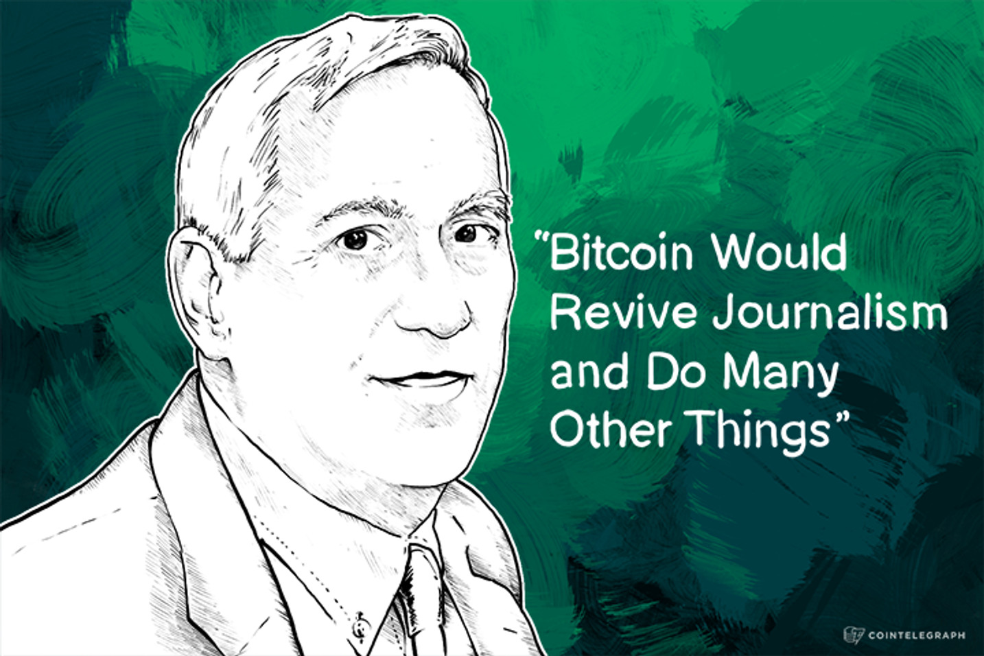 Author Walter Isaacson: 'Bitcoin Would Revive Journalism and Do Many Other Things'