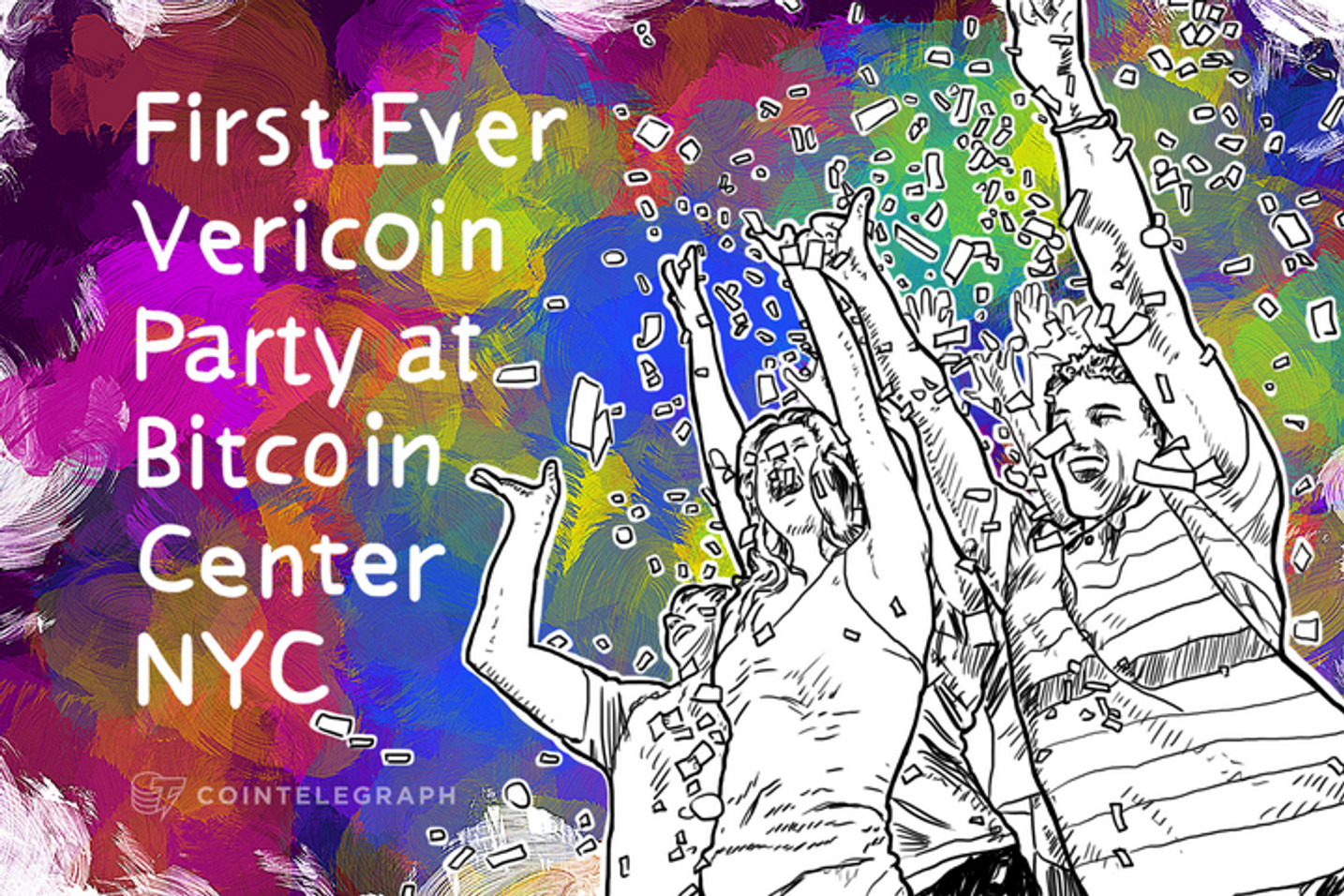 First Ever Vericoin Party at Bitcoin Center NYC
