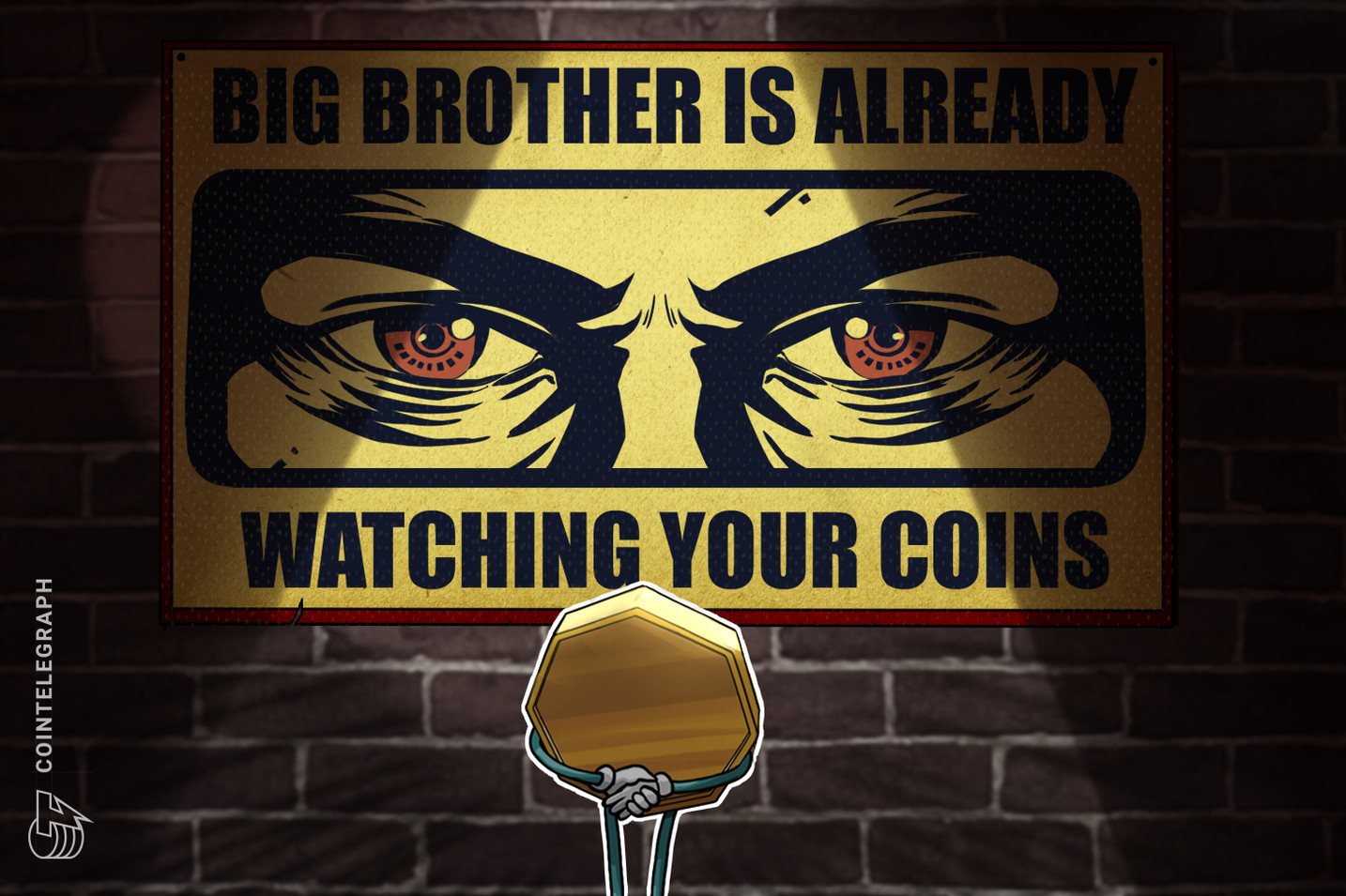 Nevermind Coinbase — Big Brother Is Already Watching Your Coins