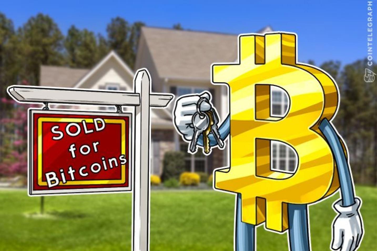 Bitcoin lleva el bombo al mercado inmobiliario