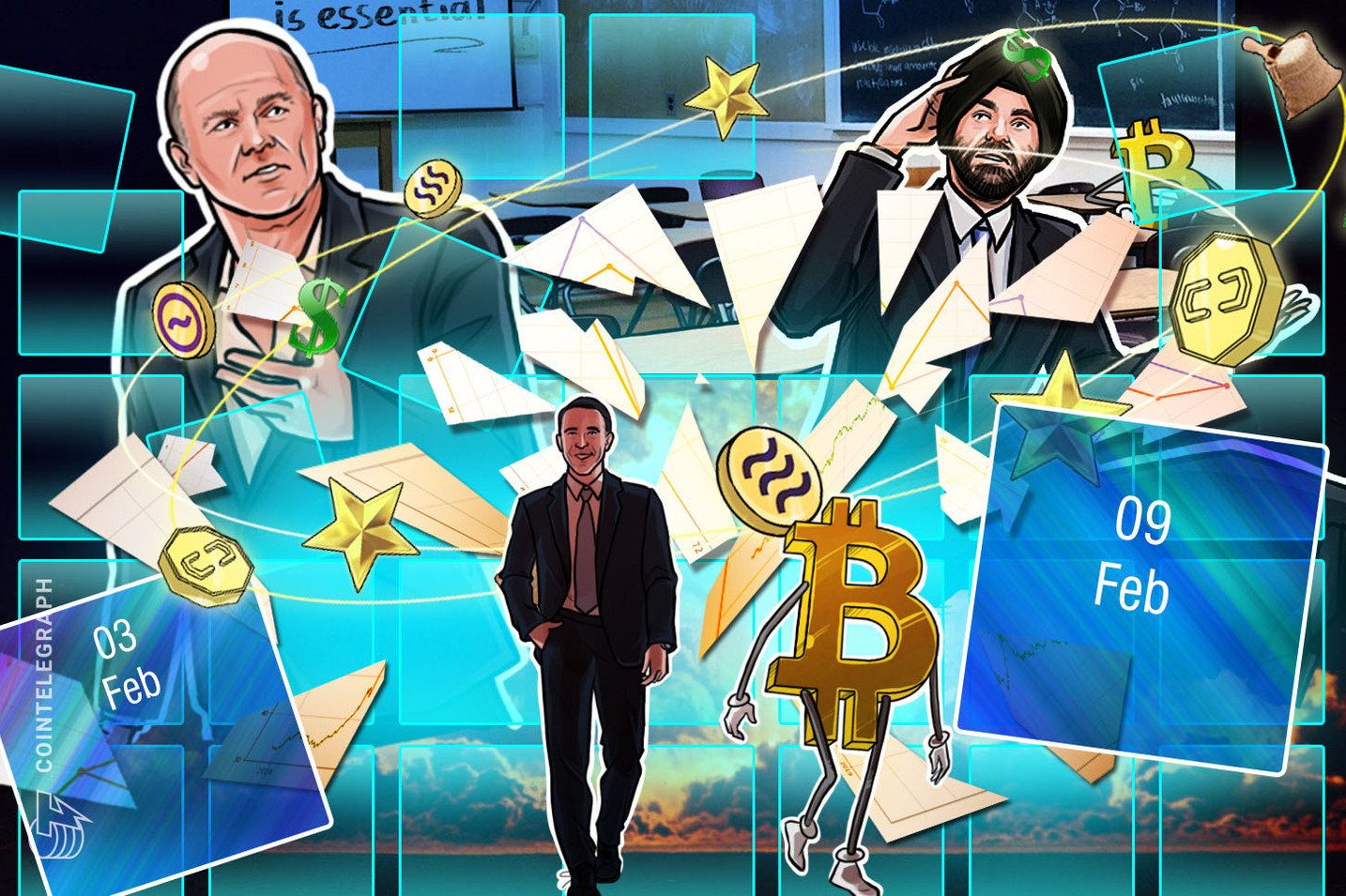 Bitcoin Hits $10K, Coinbase Controversy, Buffet with Buffett: Hodler's Digest, Feb. 3–9