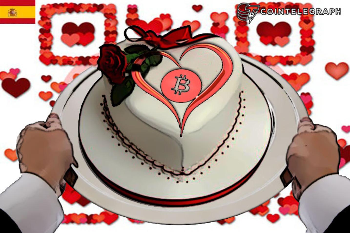 Bitcoin, también presente en el amor