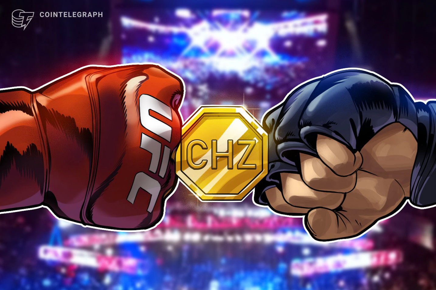 UFC Partners With Chiliz to Give Token Holders VIP Experiences