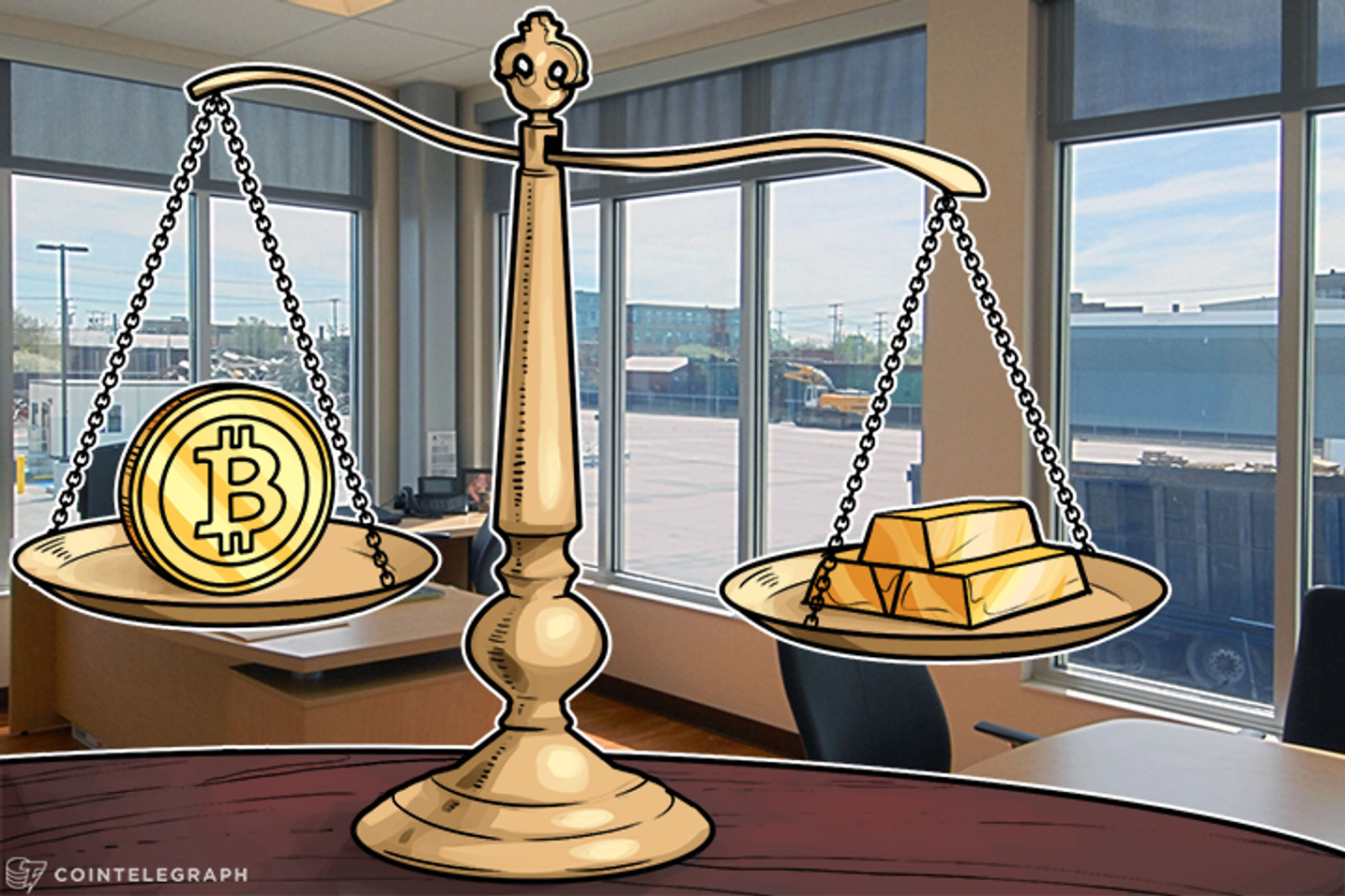 1 Bitcoin Now Equals Nearly 3 Ounces of Gold: Bobby Lee