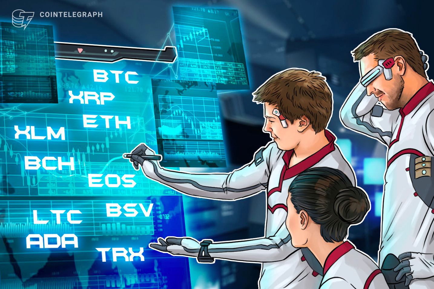 Bitcoin, Ripple, Ethereum, EOS, Stellar, Bitcoin Cash, Litecoin, Bitcoin SV, TRON, Cardano: Price Analysis, Dec. 19