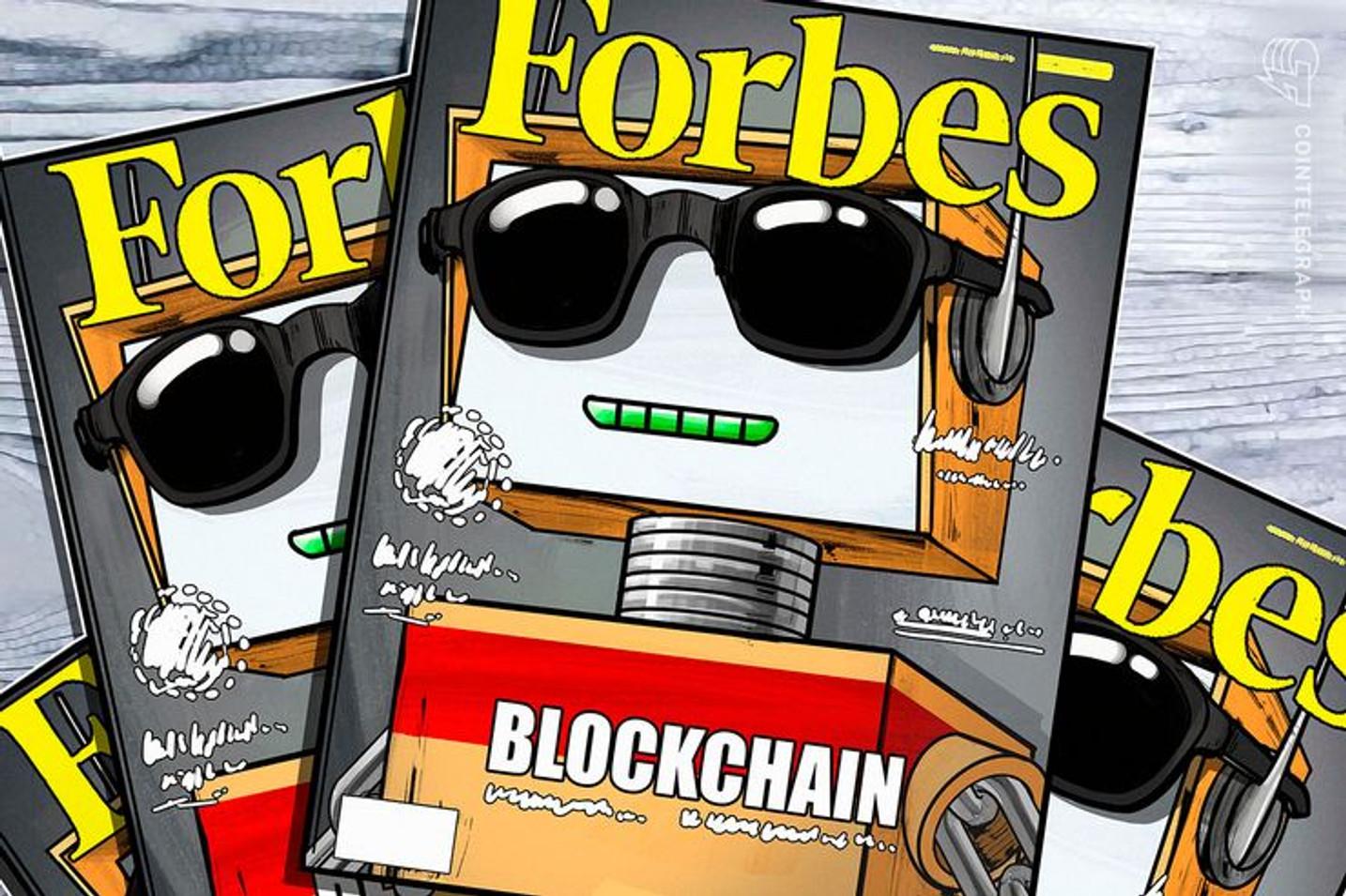Forbes Brasil lista startups promissoras em 2019 e cita empresas cripto e blockchain
